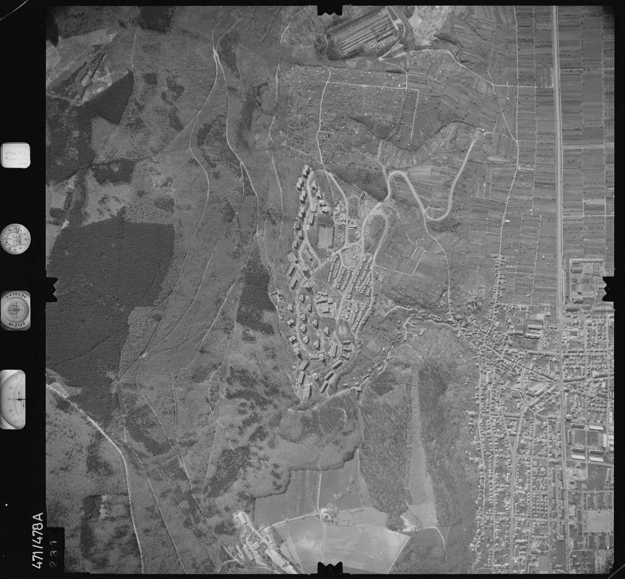Luftbild: Film 100 Bildnr. 231, Bild 1