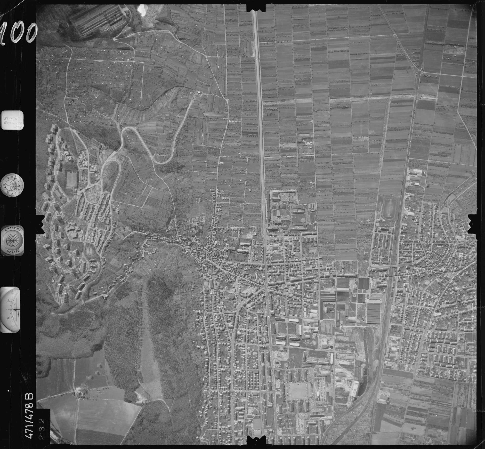 Luftbild: Film 100 Bildnr. 232, Bild 1