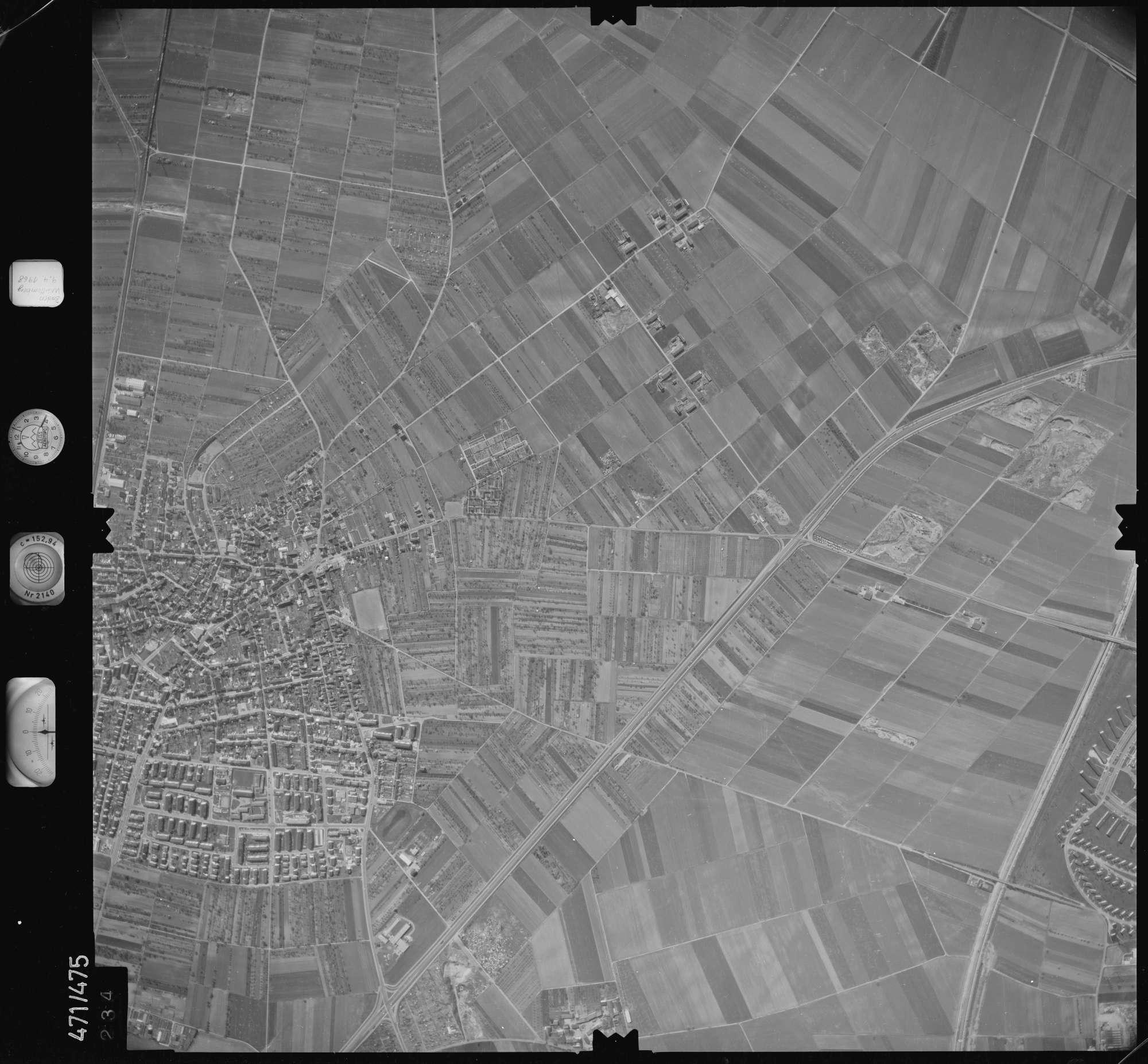 Luftbild: Film 100 Bildnr. 234, Bild 1