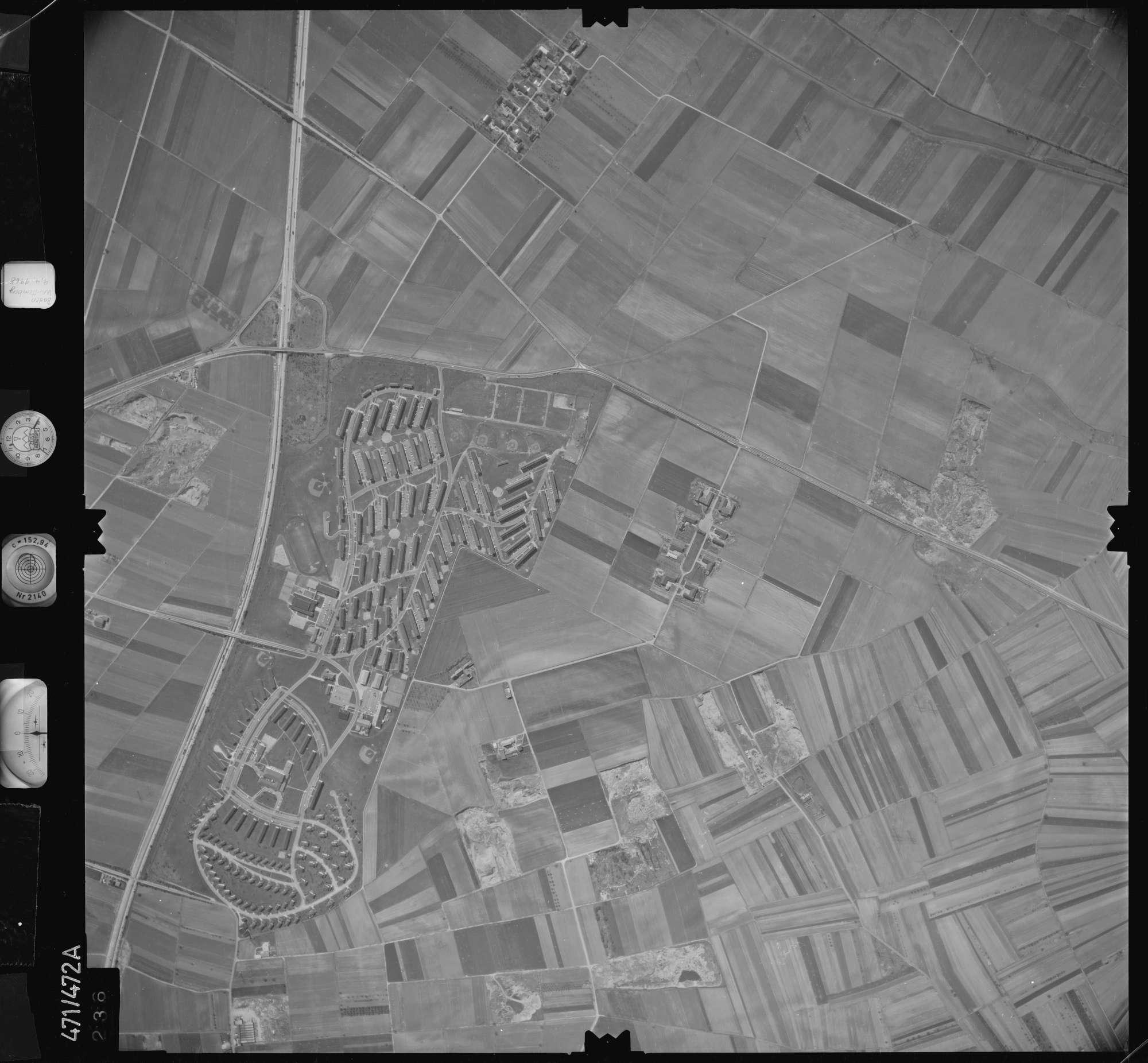 Luftbild: Film 100 Bildnr. 236, Bild 1