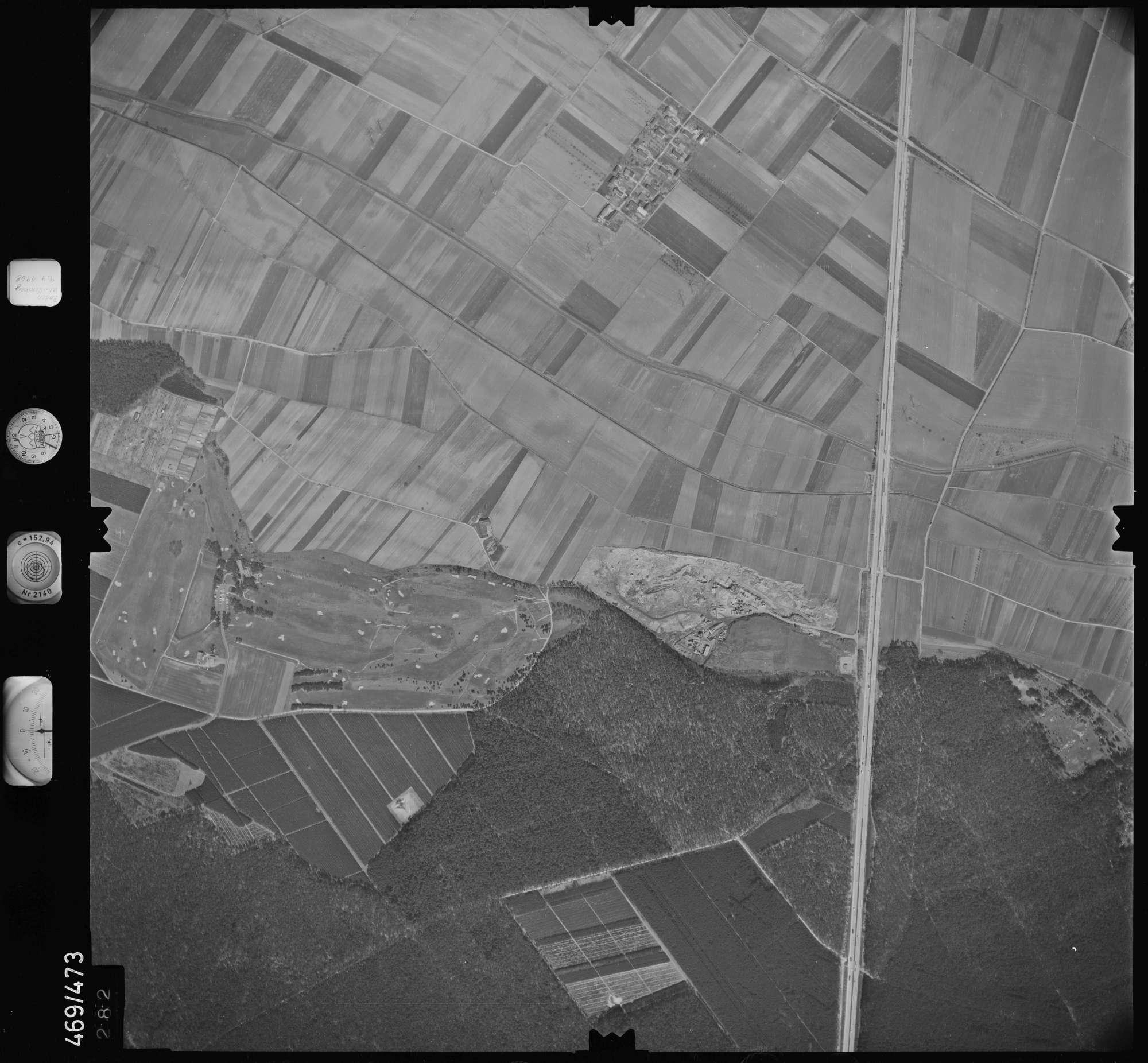 Luftbild: Film 101 Bildnr. 282, Bild 1