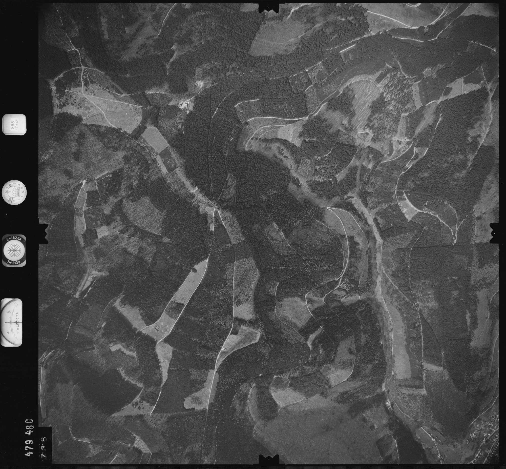 Luftbild: Film 898 Bildnr. 738, Bild 1