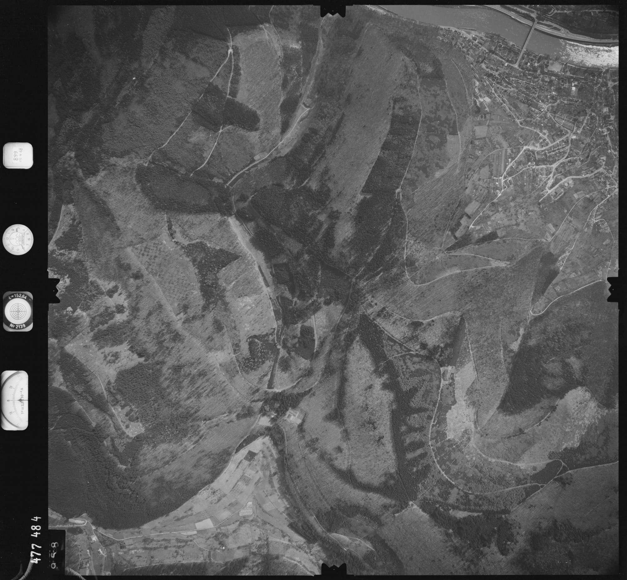 Luftbild: Film 899 Bildnr. 958, Bild 1