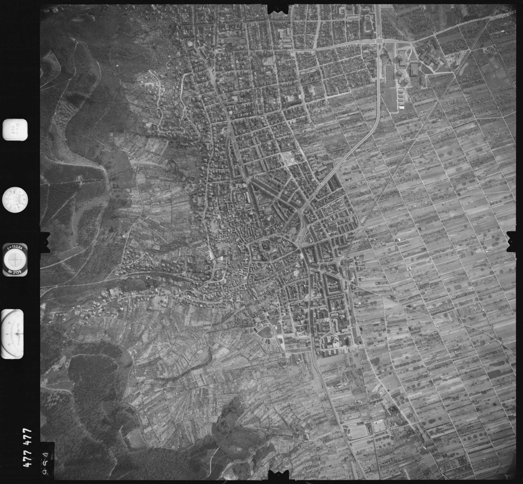 Luftbild: Film 899 Bildnr. 964, Bild 1