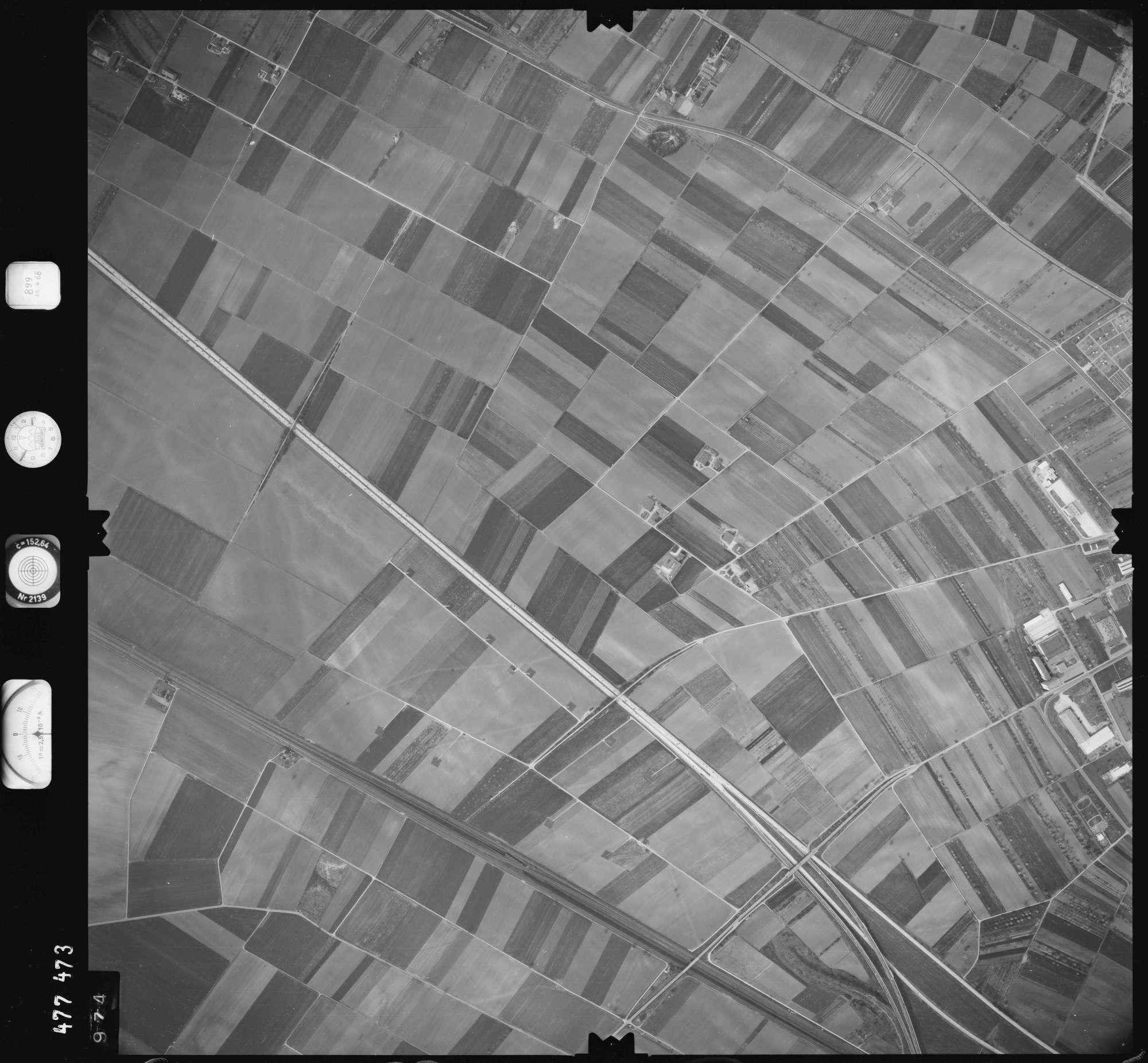 Luftbild: Film 899 Bildnr. 974, Bild 1