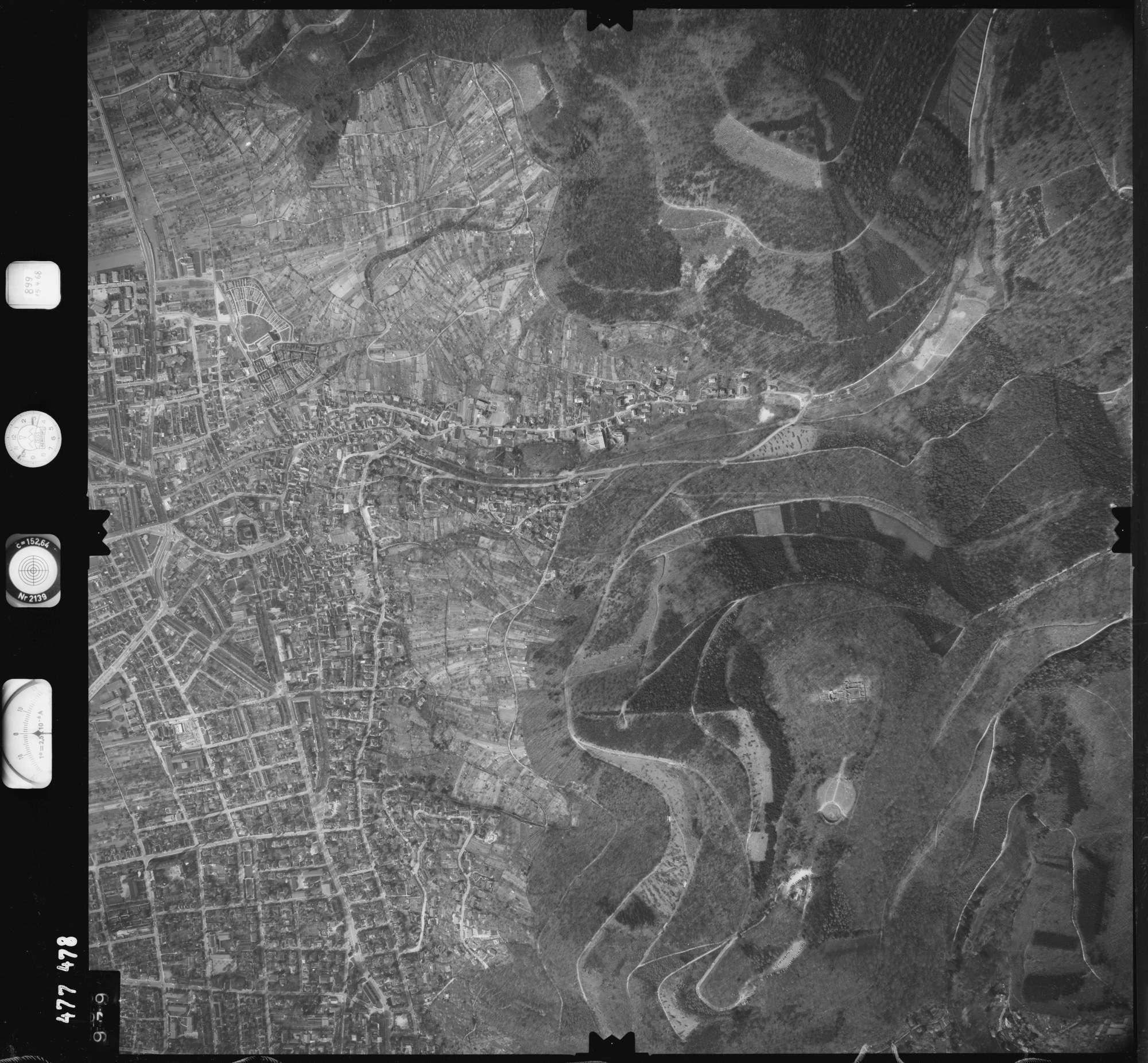 Luftbild: Film 899 Bildnr. 979, Bild 1