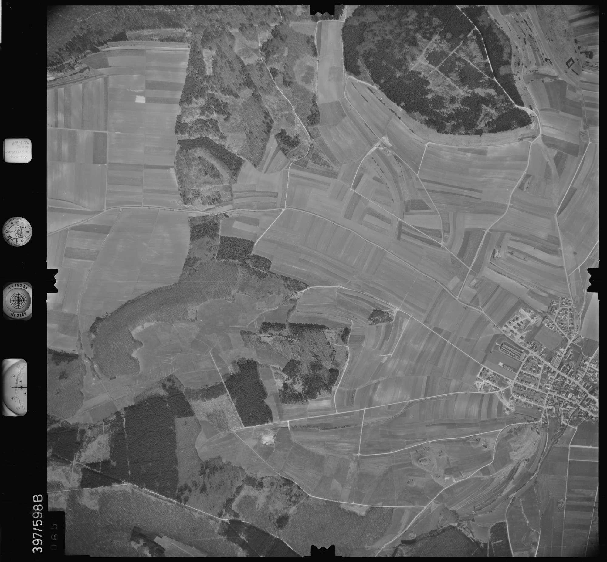 Luftbild: Film 32 Bildnr. 65, Bild 1