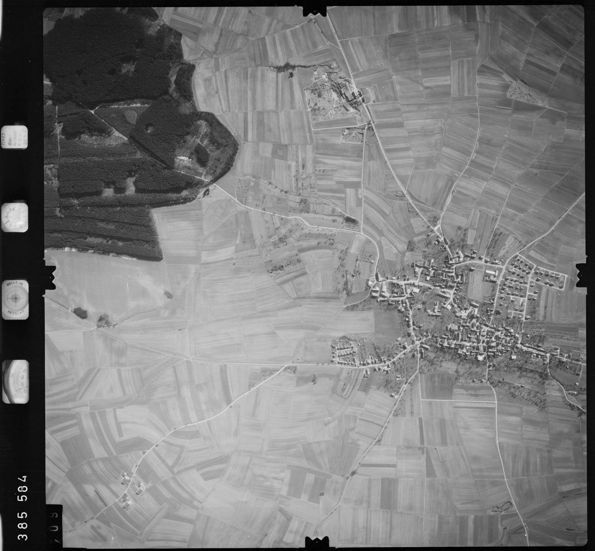 Luftbild: Film 23 Bildnr. 408, Bild 1