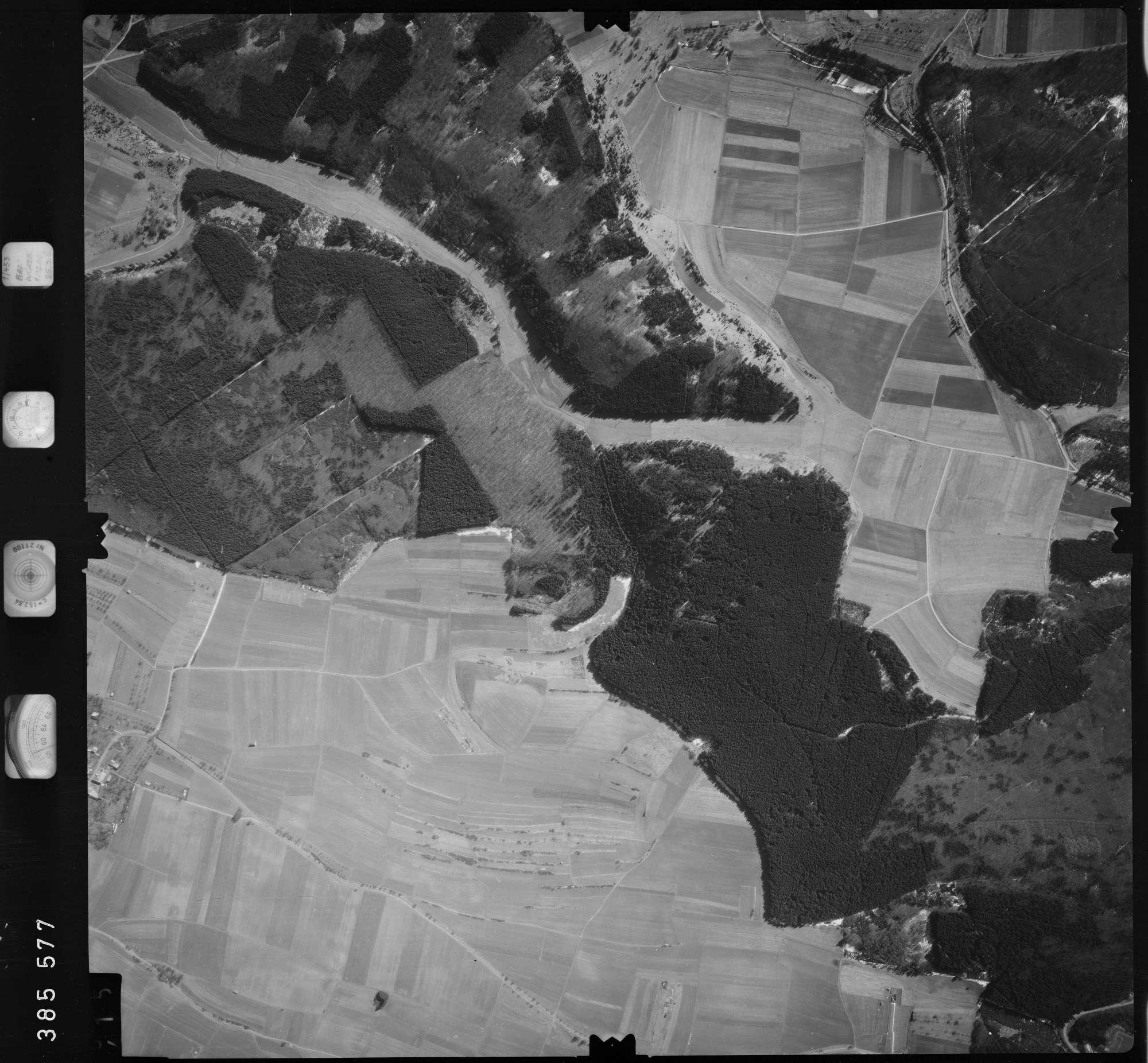 Luftbild: Film 23 Bildnr. 414, Bild 1