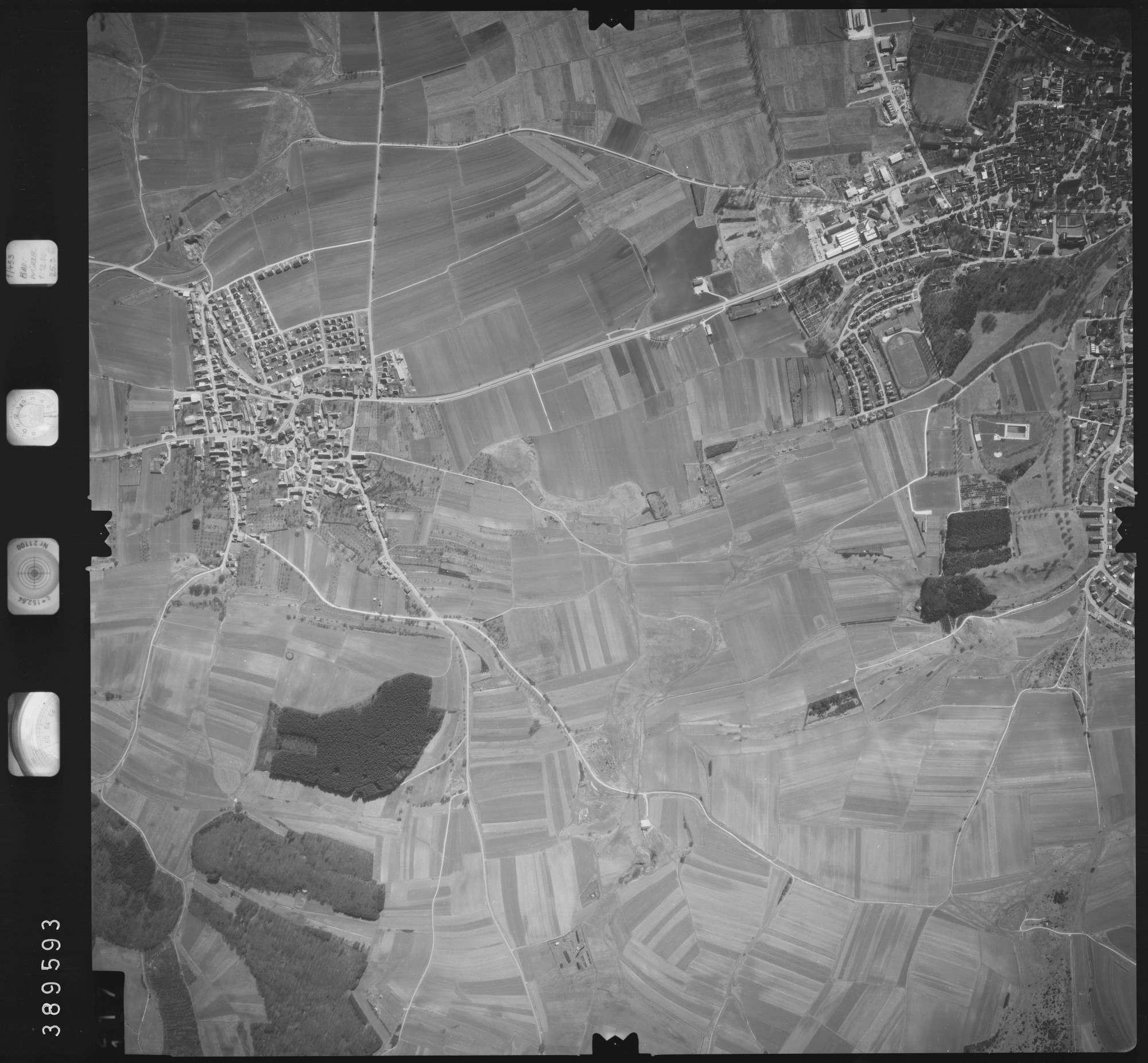 Luftbild: Film 22 Bildnr. 117, Bild 1