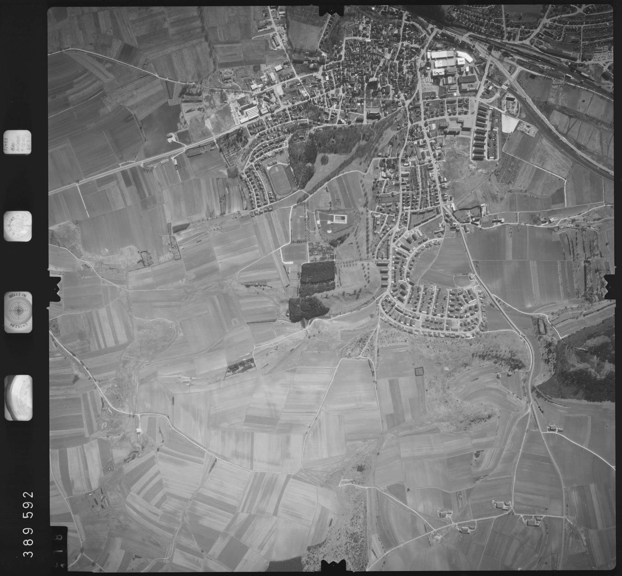 Luftbild: Film 22 Bildnr. 118, Bild 1
