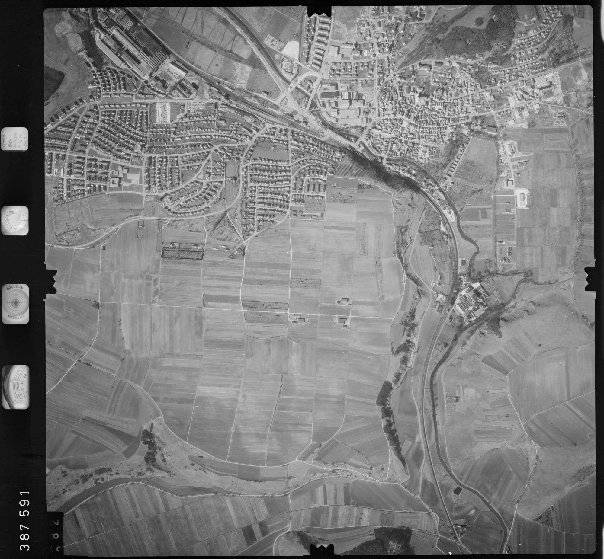 Luftbild: Film 23 Bildnr. 381, Bild 1