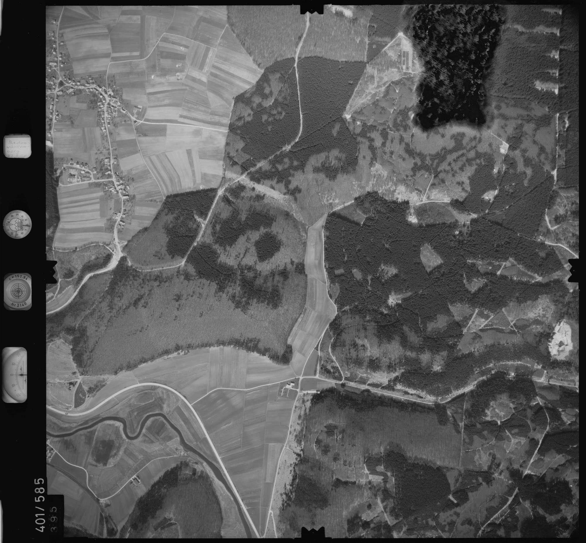 Luftbild: Film 10 Bildnr. 395, Bild 1