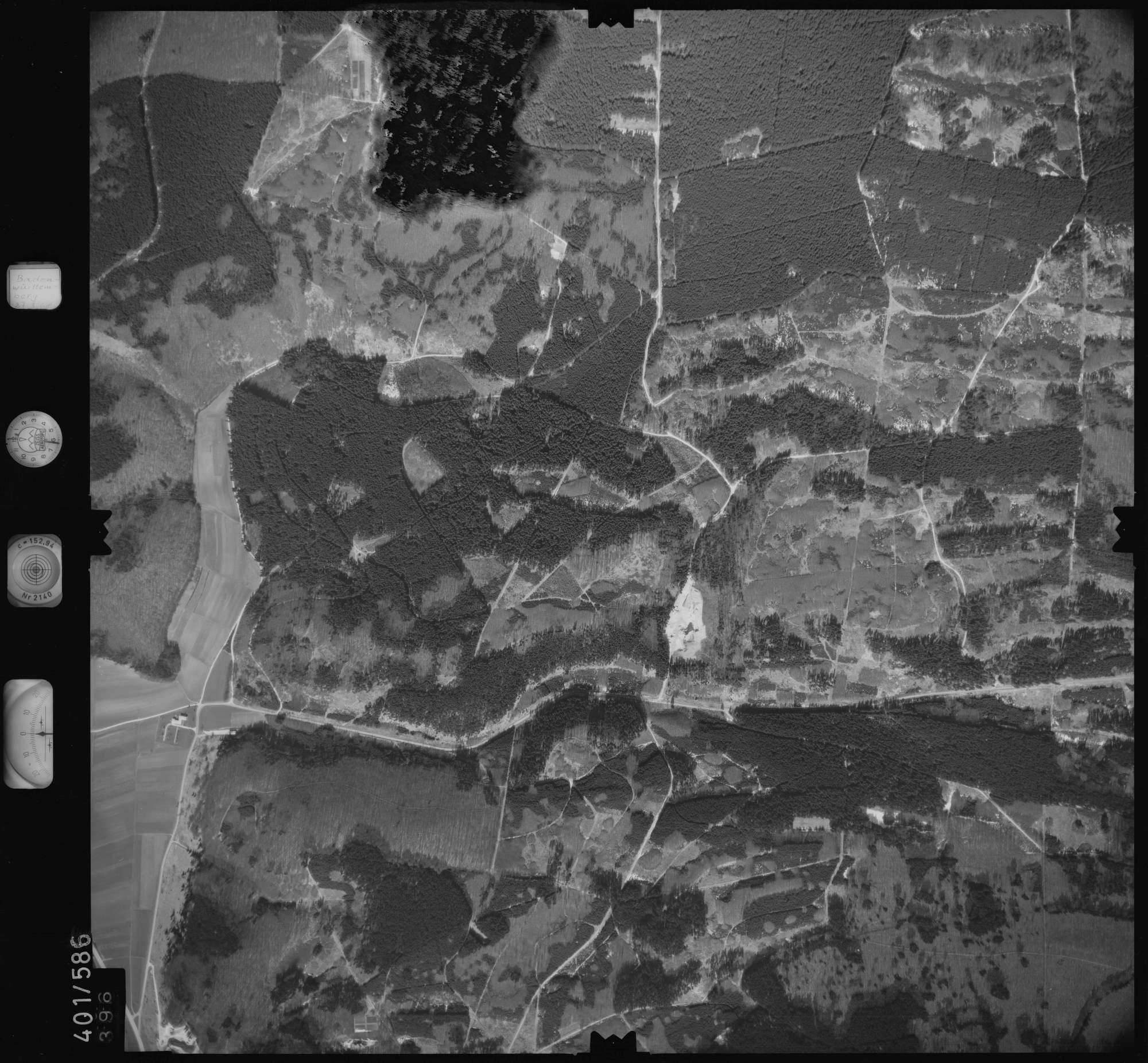 Luftbild: Film 10 Bildnr. 396, Bild 1