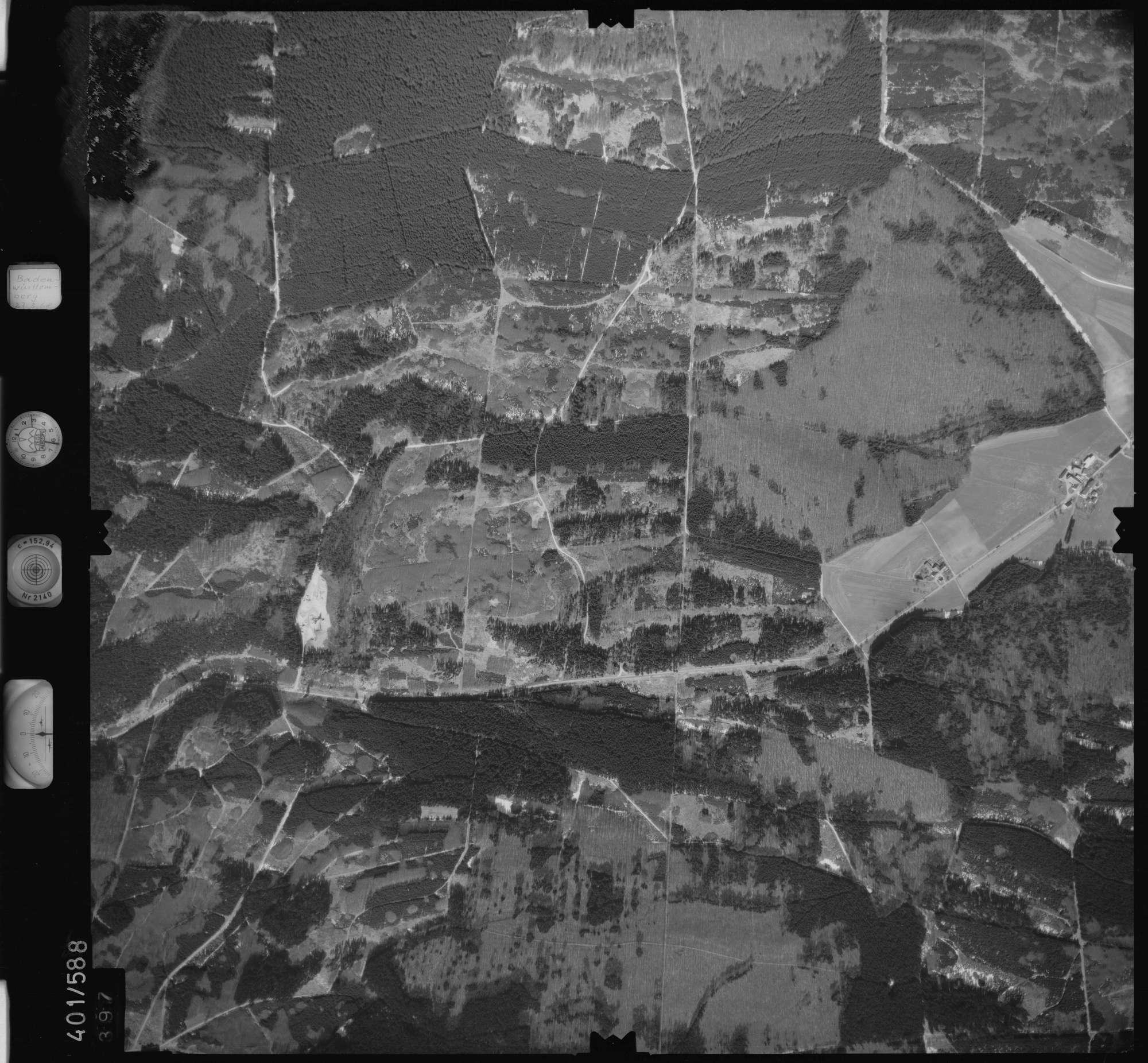 Luftbild: Film 10 Bildnr. 397, Bild 1