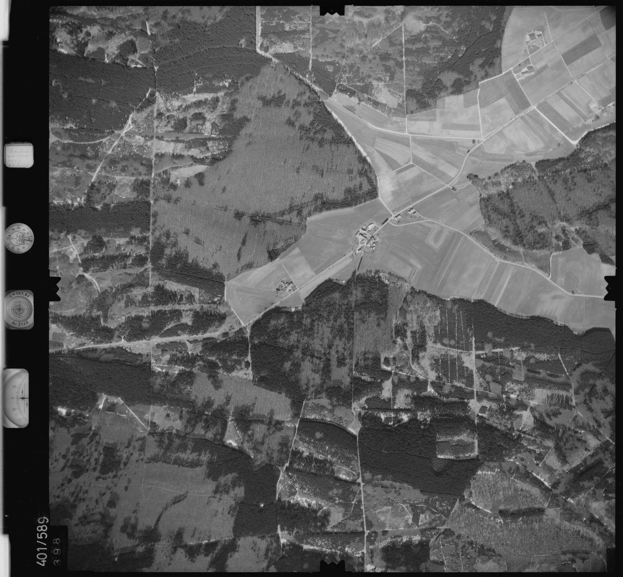Luftbild: Film 10 Bildnr. 398, Bild 1