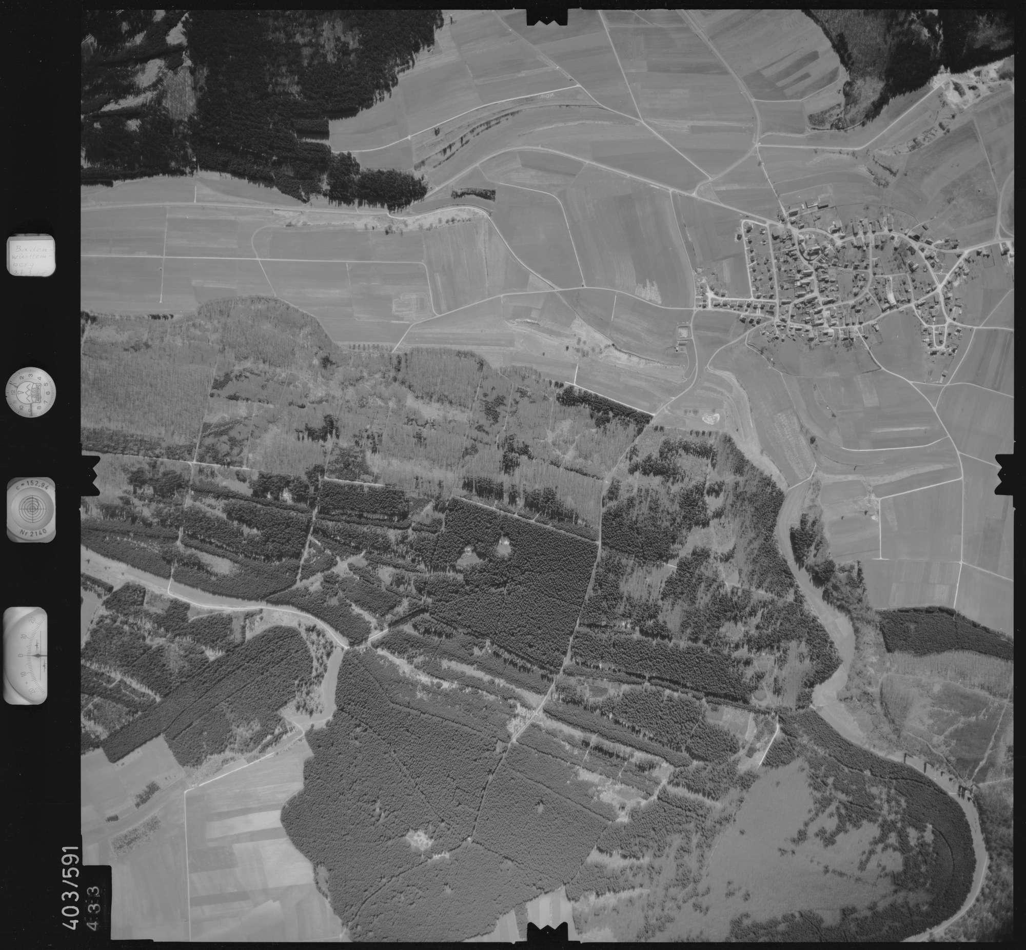 Luftbild: Film 10 Bildnr. 433, Bild 1