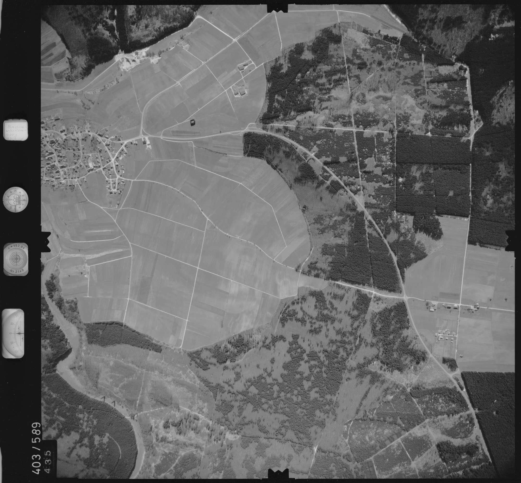 Luftbild: Film 10 Bildnr. 435, Bild 1