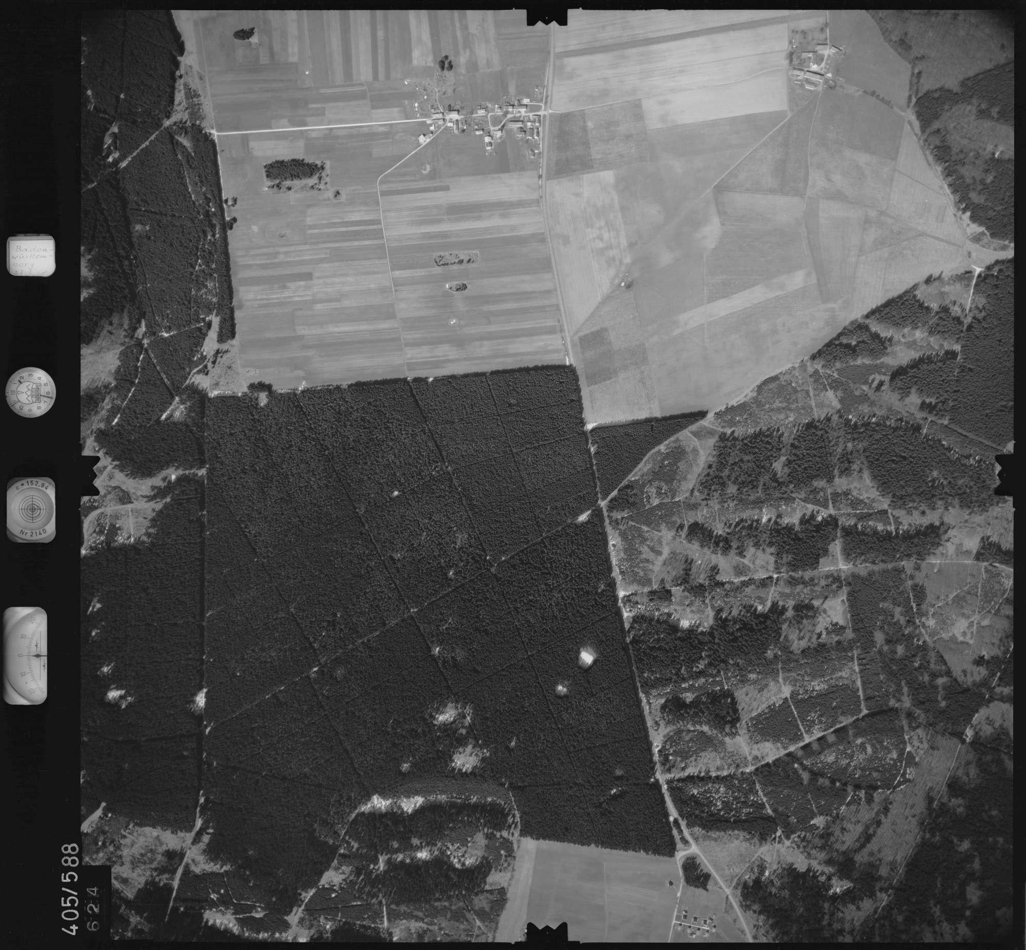 Luftbild: Film 10 Bildnr. 624, Bild 1
