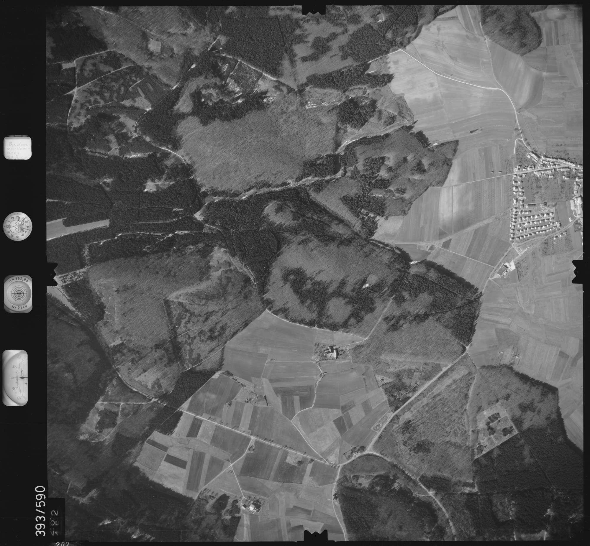 Luftbild: Film 24 Bildnr. 262, Bild 1