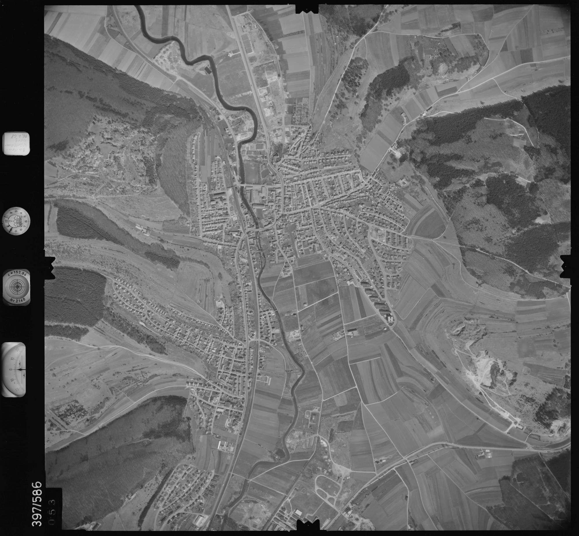Luftbild: Film 32 Bildnr. 53, Bild 1