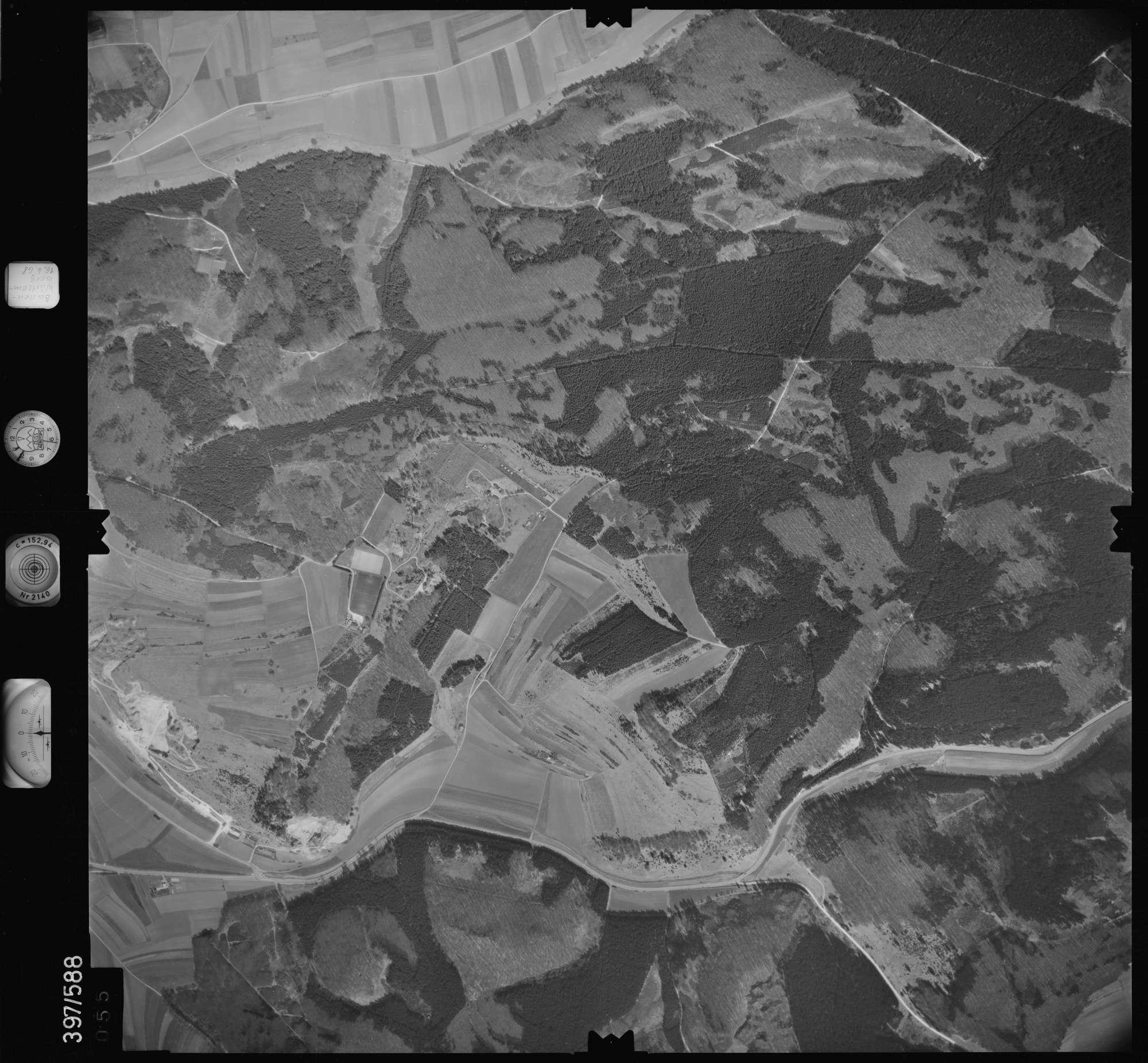 Luftbild: Film 32 Bildnr. 55, Bild 1