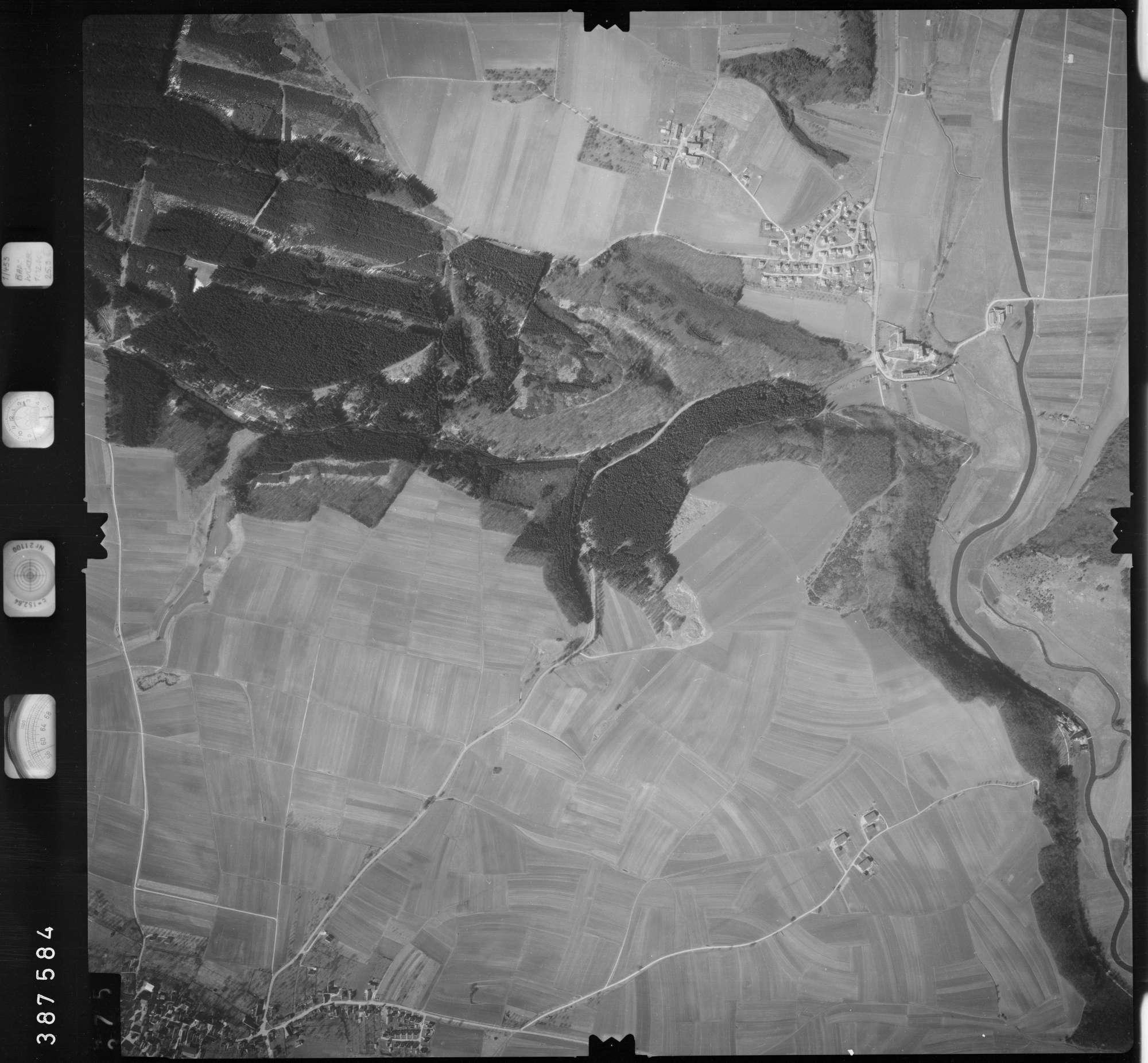 Luftbild: Film 23 Bildnr. 374, Bild 1