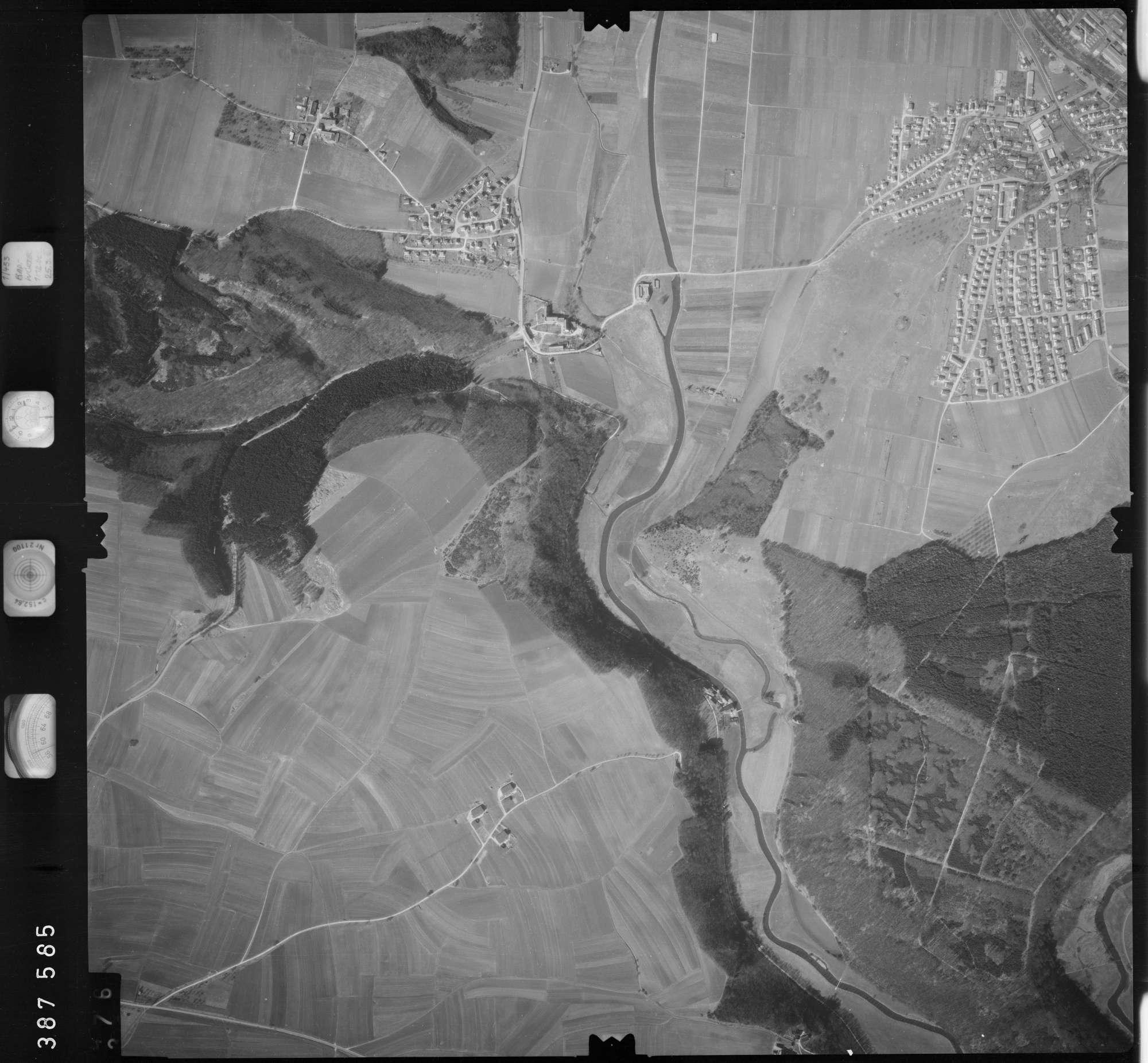 Luftbild: Film 23 Bildnr. 375, Bild 1