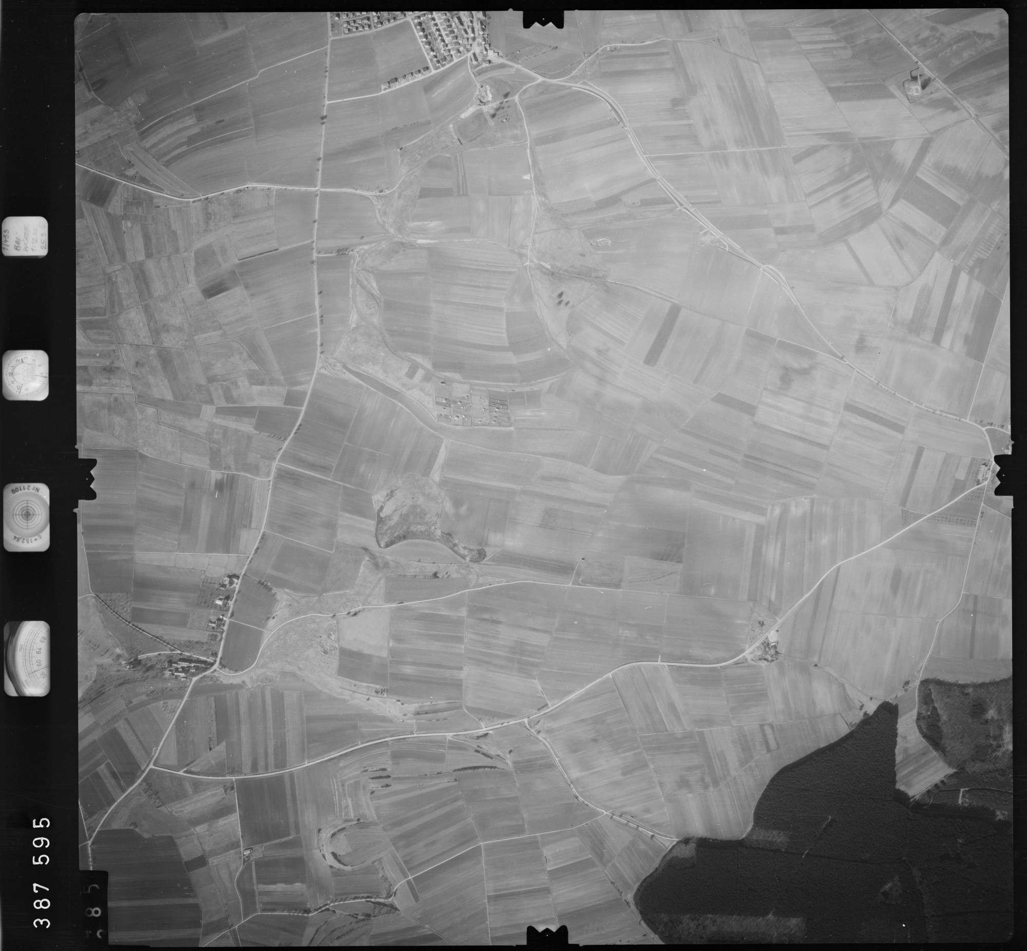 Luftbild: Film 23 Bildnr. 384, Bild 1