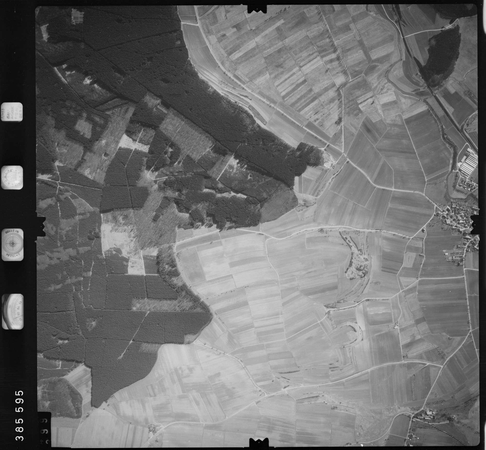 Luftbild: Film 23 Bildnr. 398, Bild 1