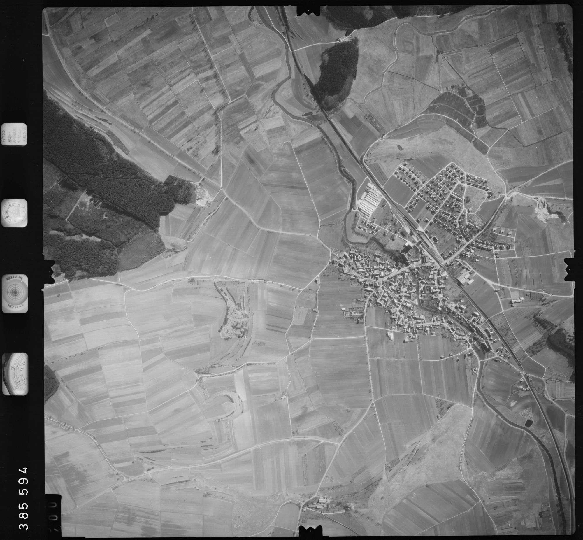 Luftbild: Film 23 Bildnr. 399, Bild 1