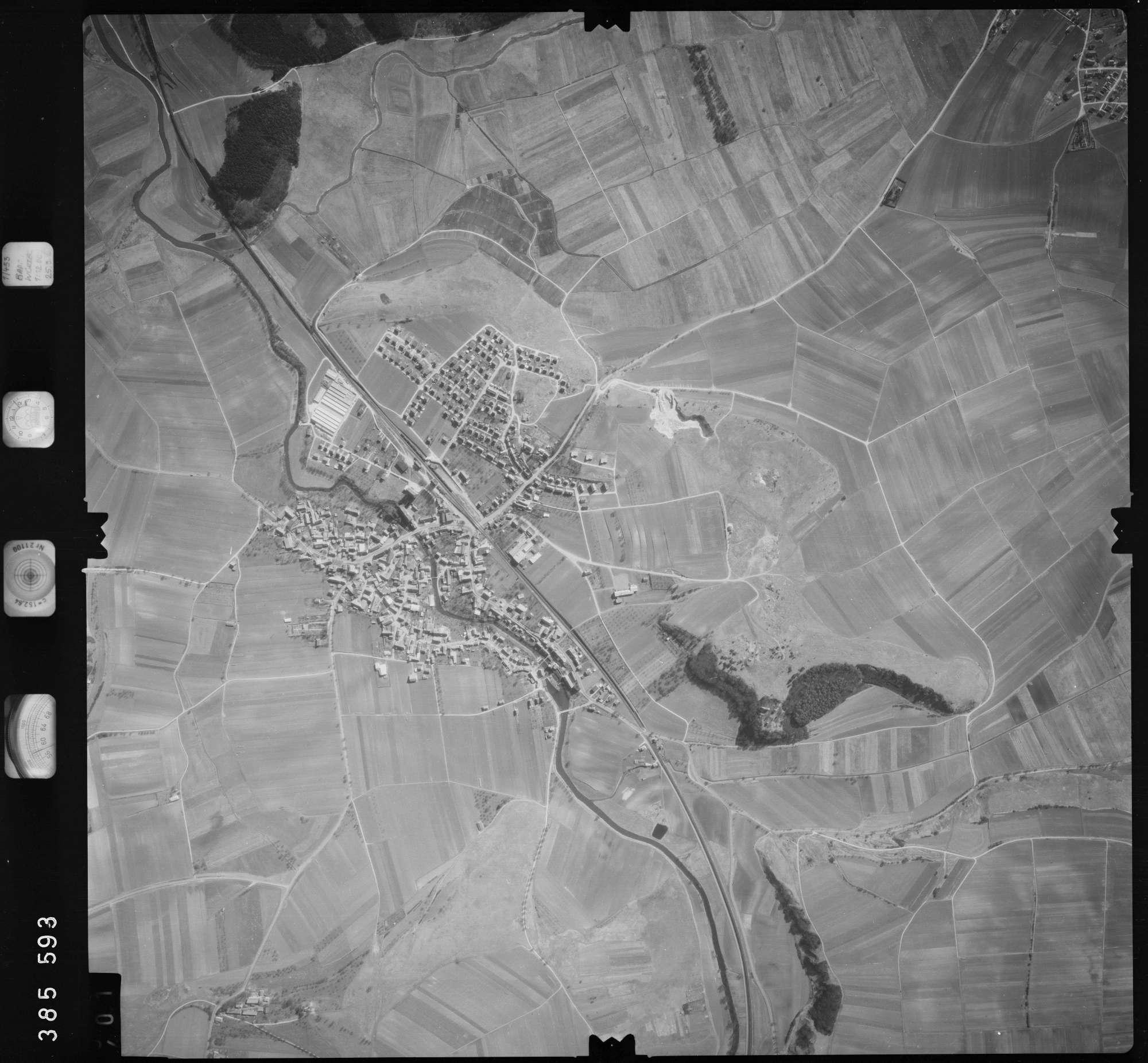 Luftbild: Film 23 Bildnr. 400, Bild 1