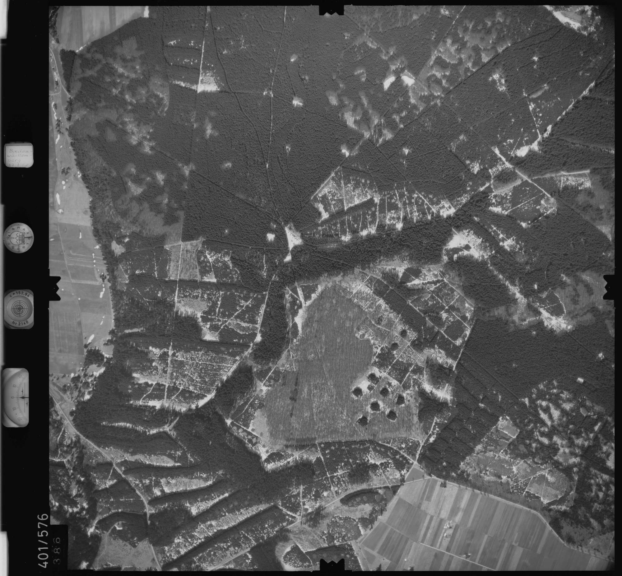 Luftbild: Film 10 Bildnr. 386, Bild 1