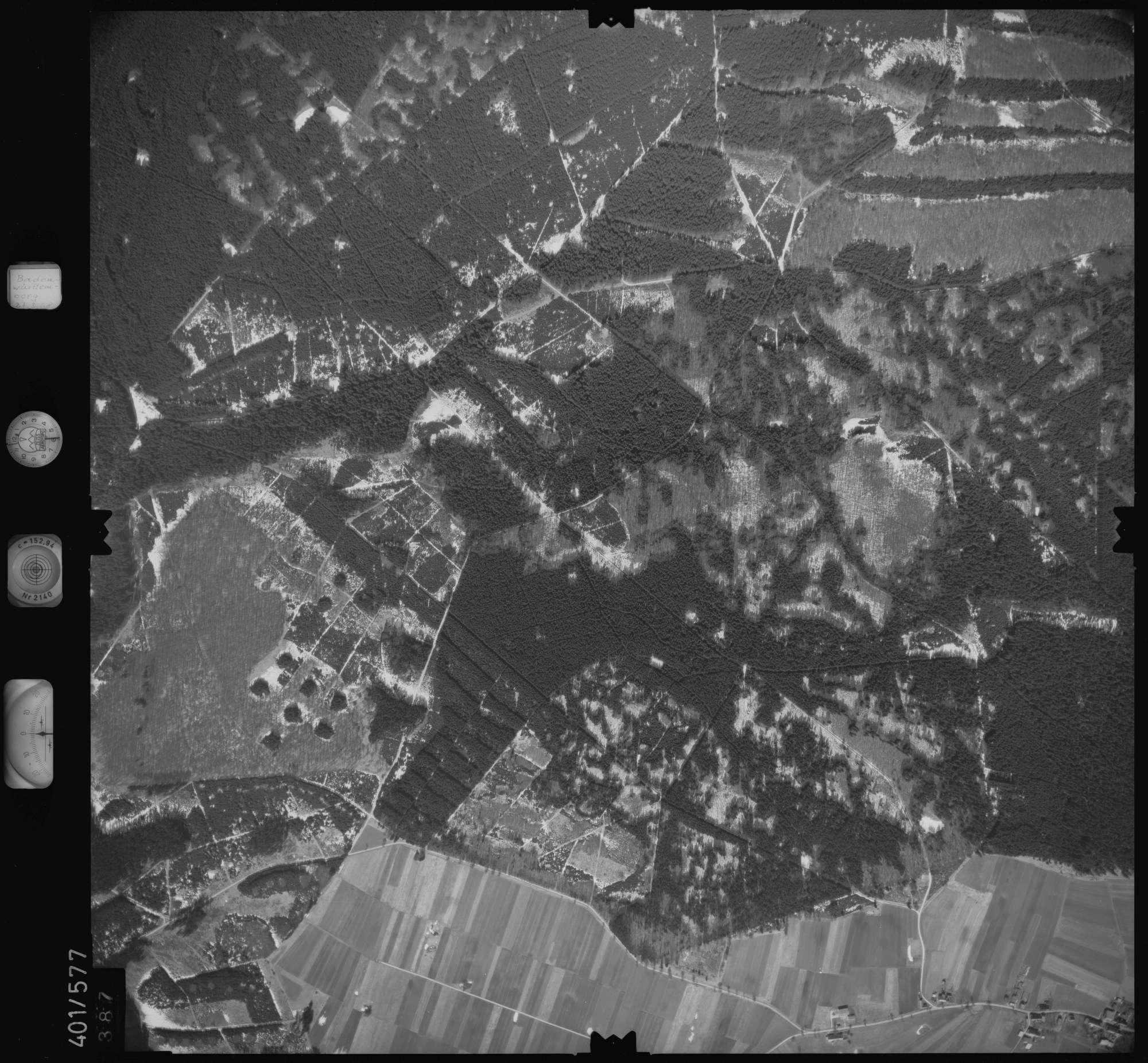 Luftbild: Film 10 Bildnr. 387, Bild 1