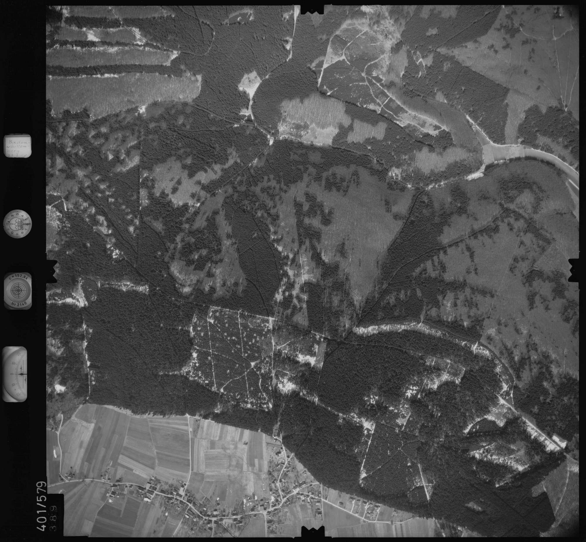 Luftbild: Film 10 Bildnr. 389, Bild 1