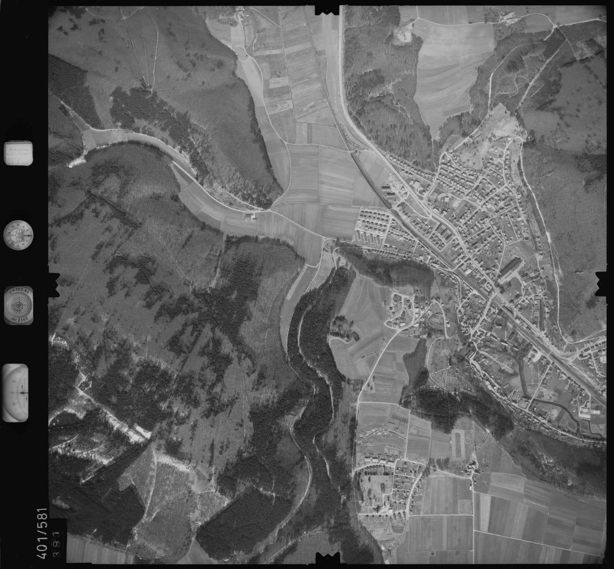 Luftbild: Film 10 Bildnr. 391, Bild 1
