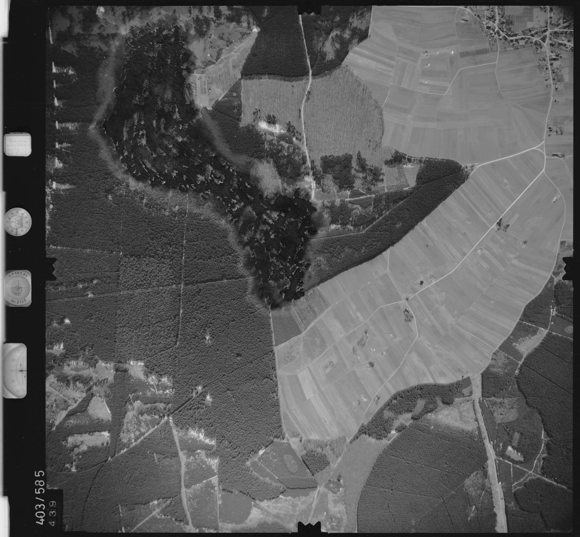Luftbild: Film 10 Bildnr. 439, Bild 1