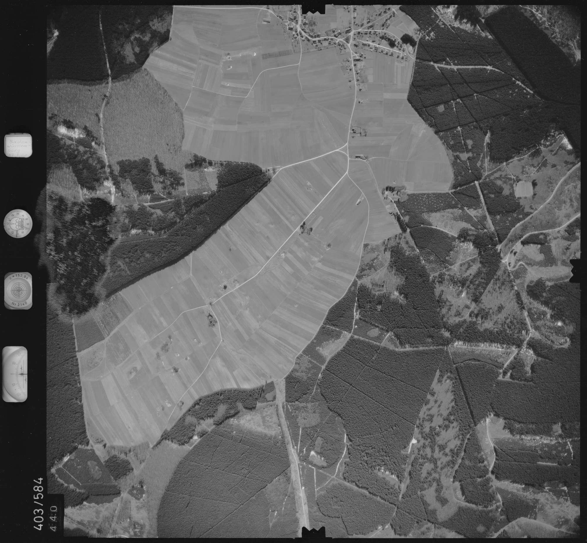 Luftbild: Film 10 Bildnr. 440, Bild 1