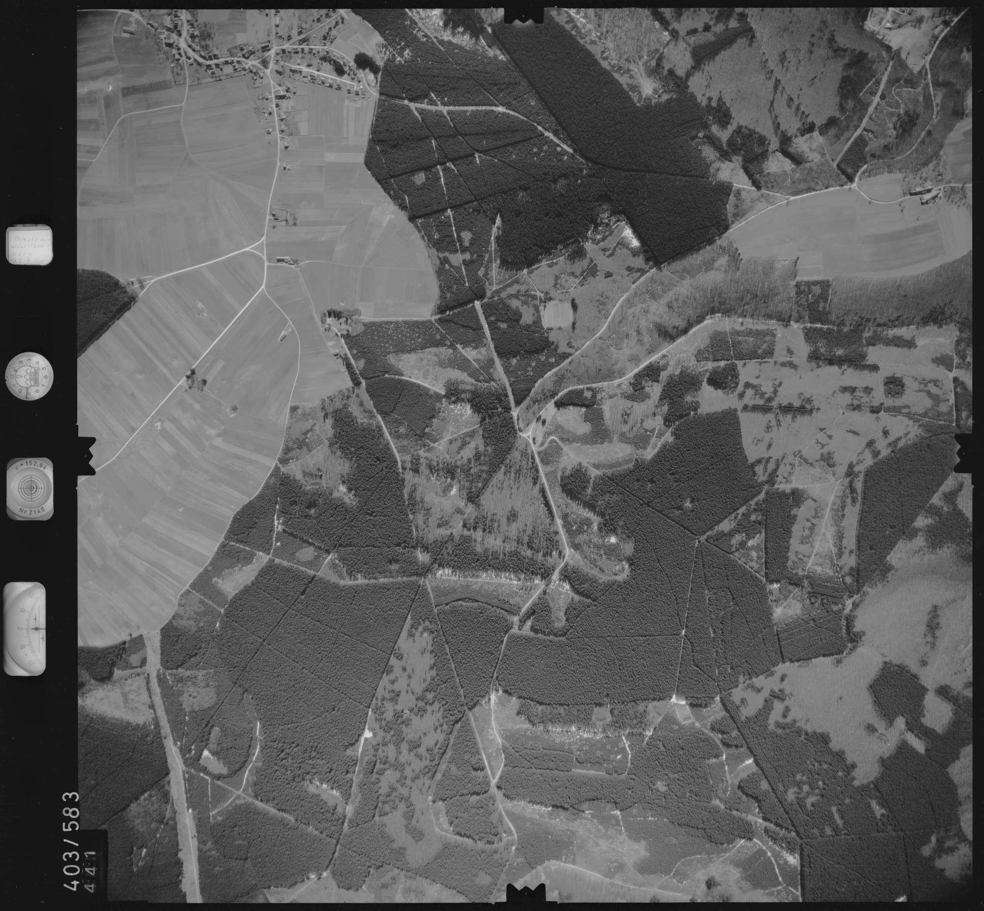 Luftbild: Film 10 Bildnr. 441, Bild 1