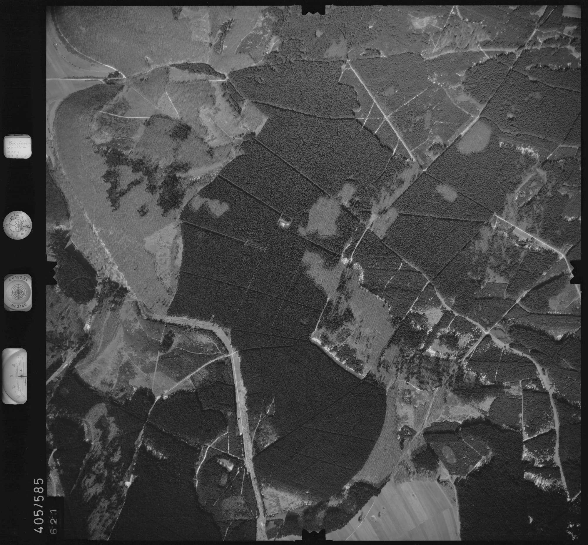 Luftbild: Film 10 Bildnr. 621, Bild 1