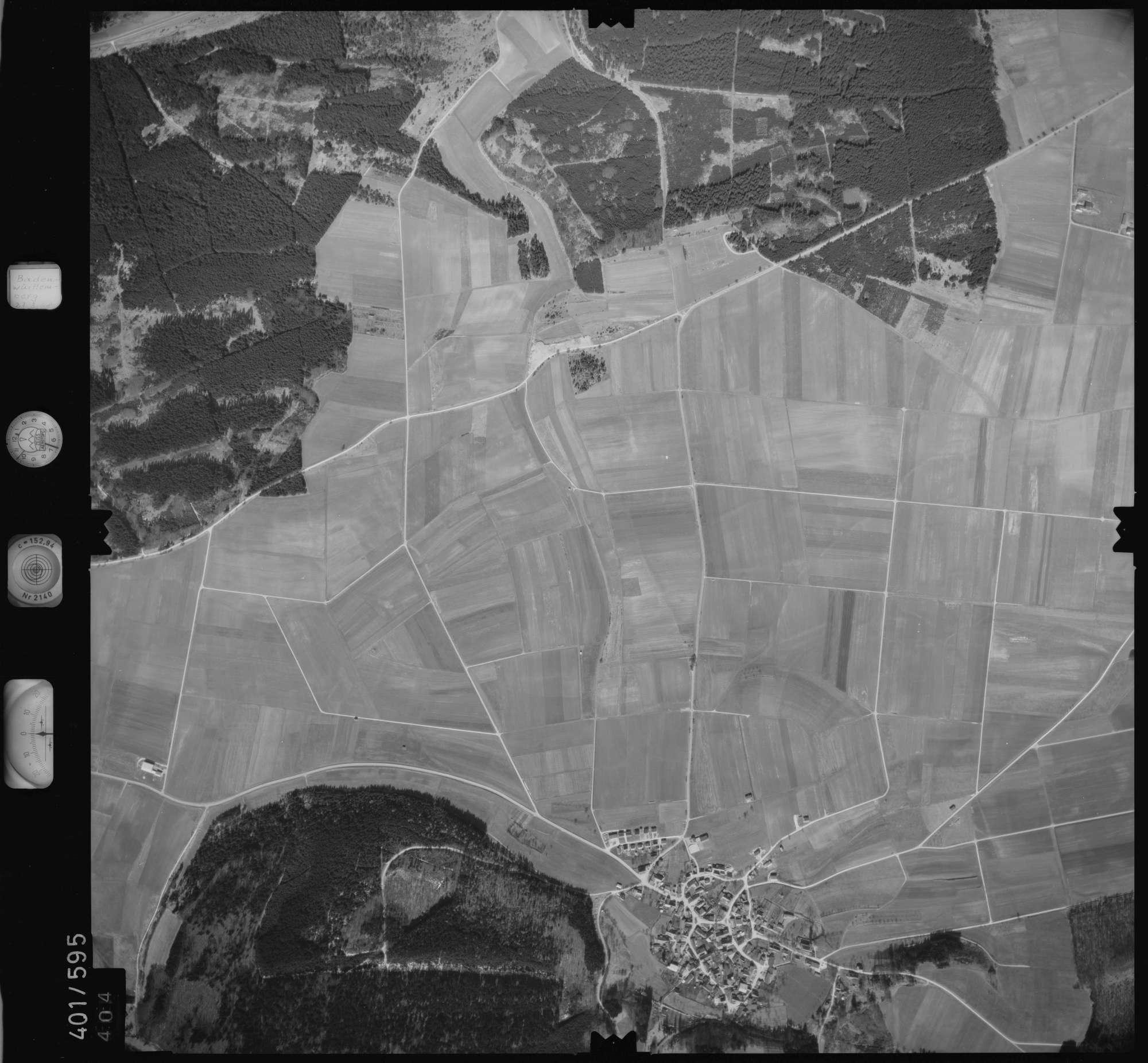 Luftbild: Film 10 Bildnr. 404, Bild 1