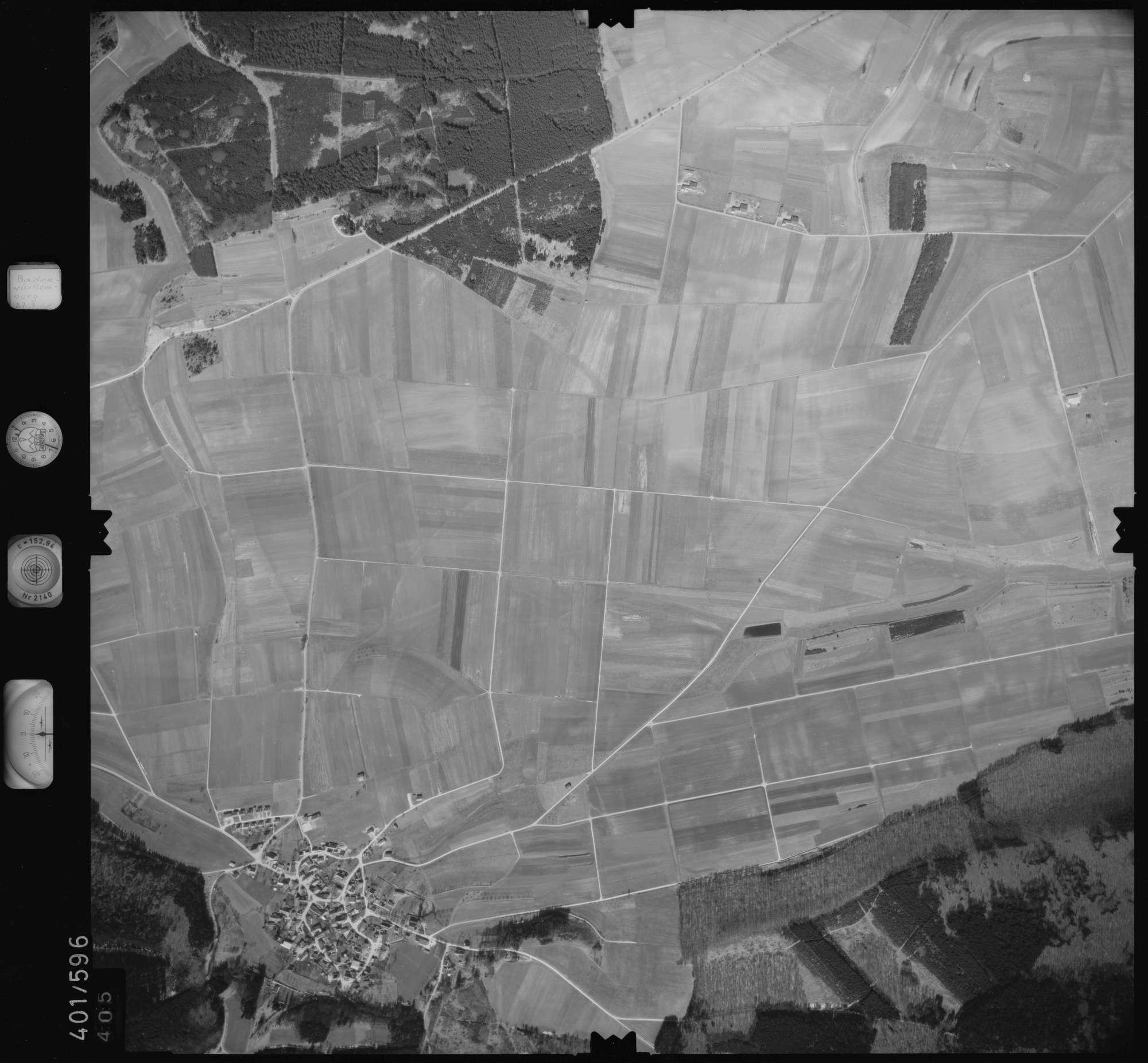 Luftbild: Film 10 Bildnr. 405, Bild 1