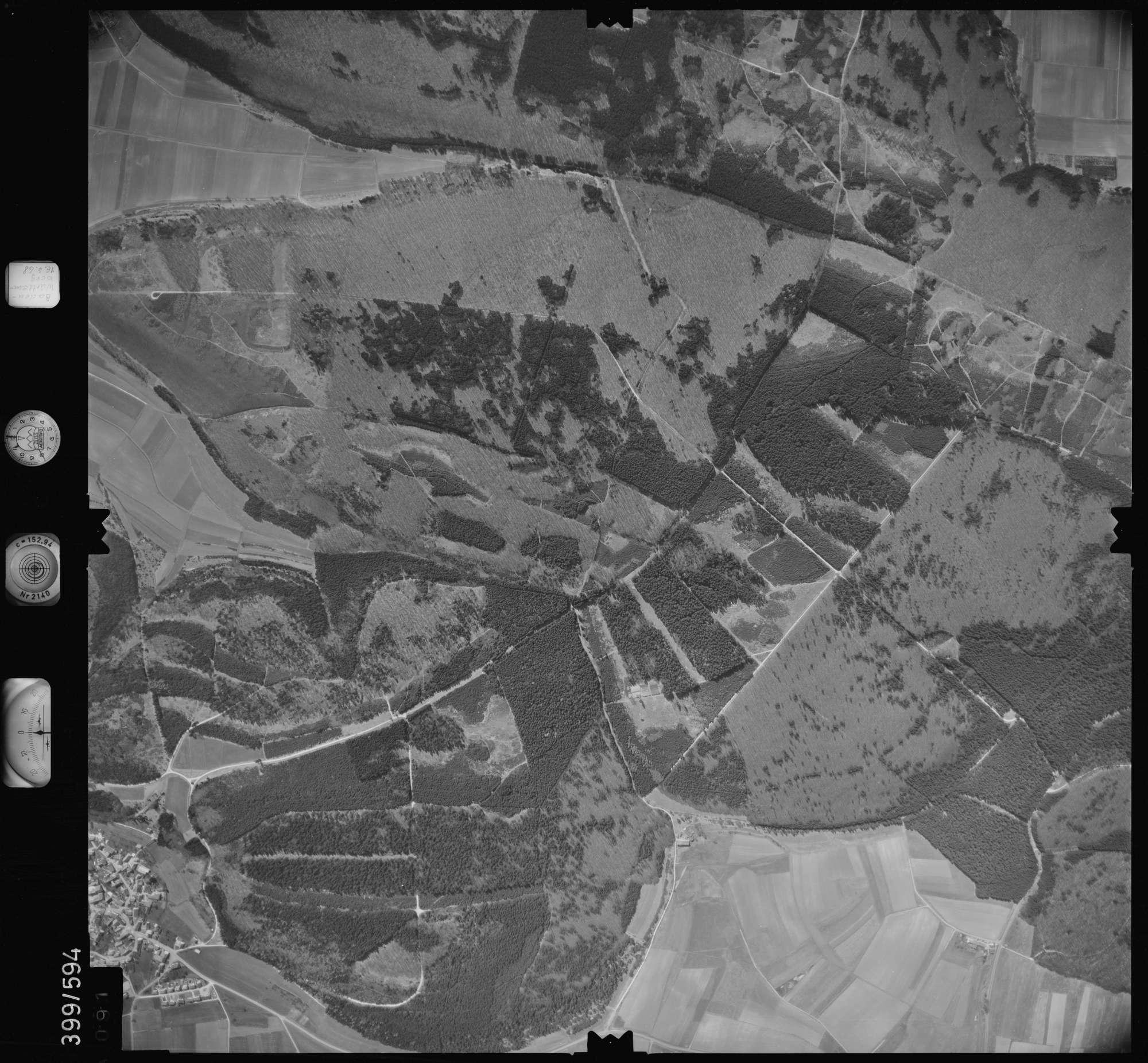 Luftbild: Film 32 Bildnr. 91, Bild 1