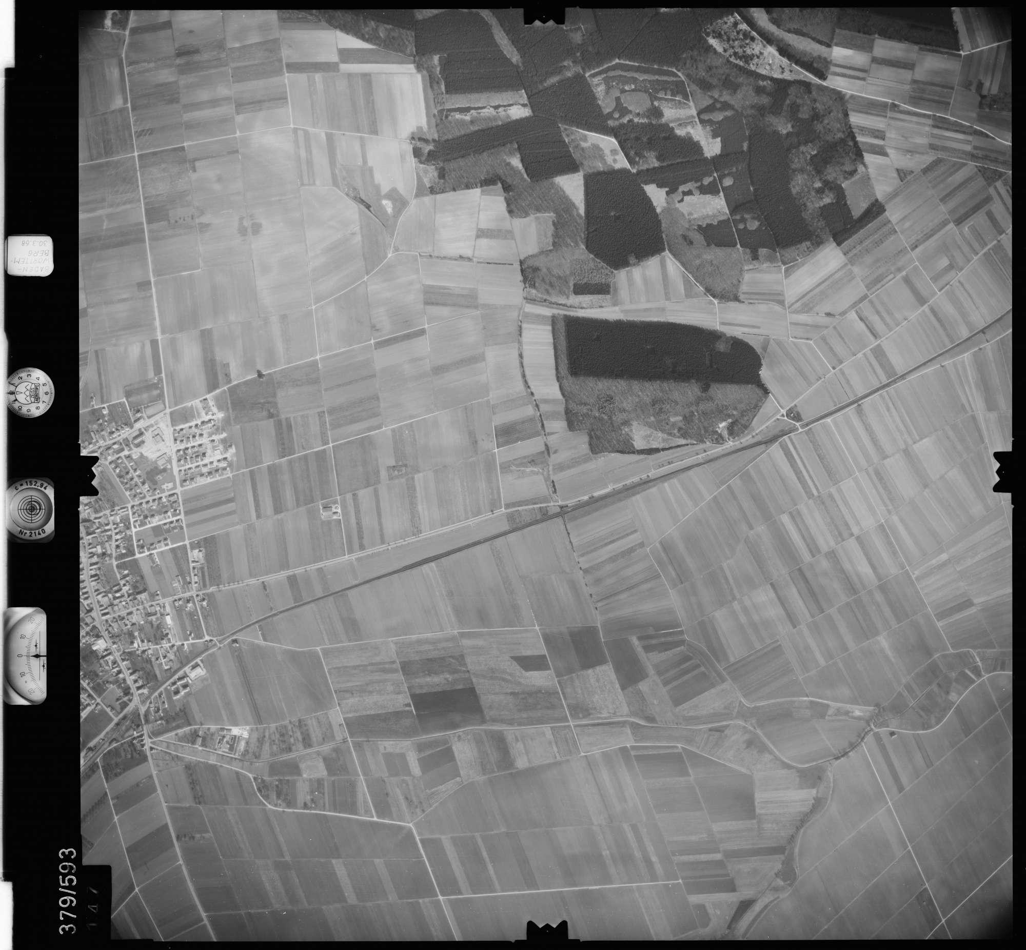 Luftbild: Film 27 Bildnr. 147, Bild 1