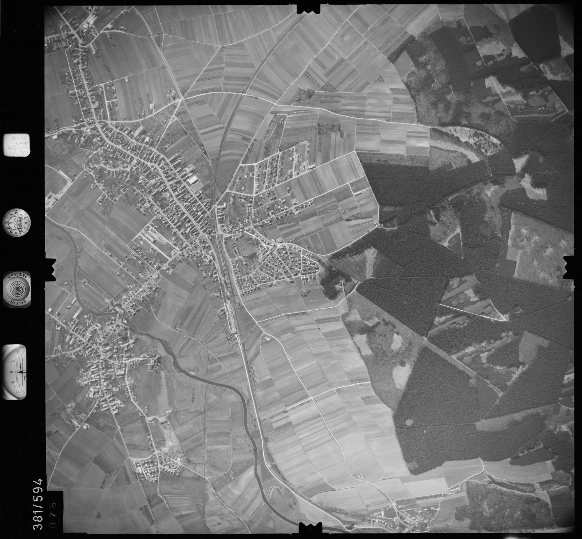 Luftbild: Film 27 Bildnr. 78, Bild 1