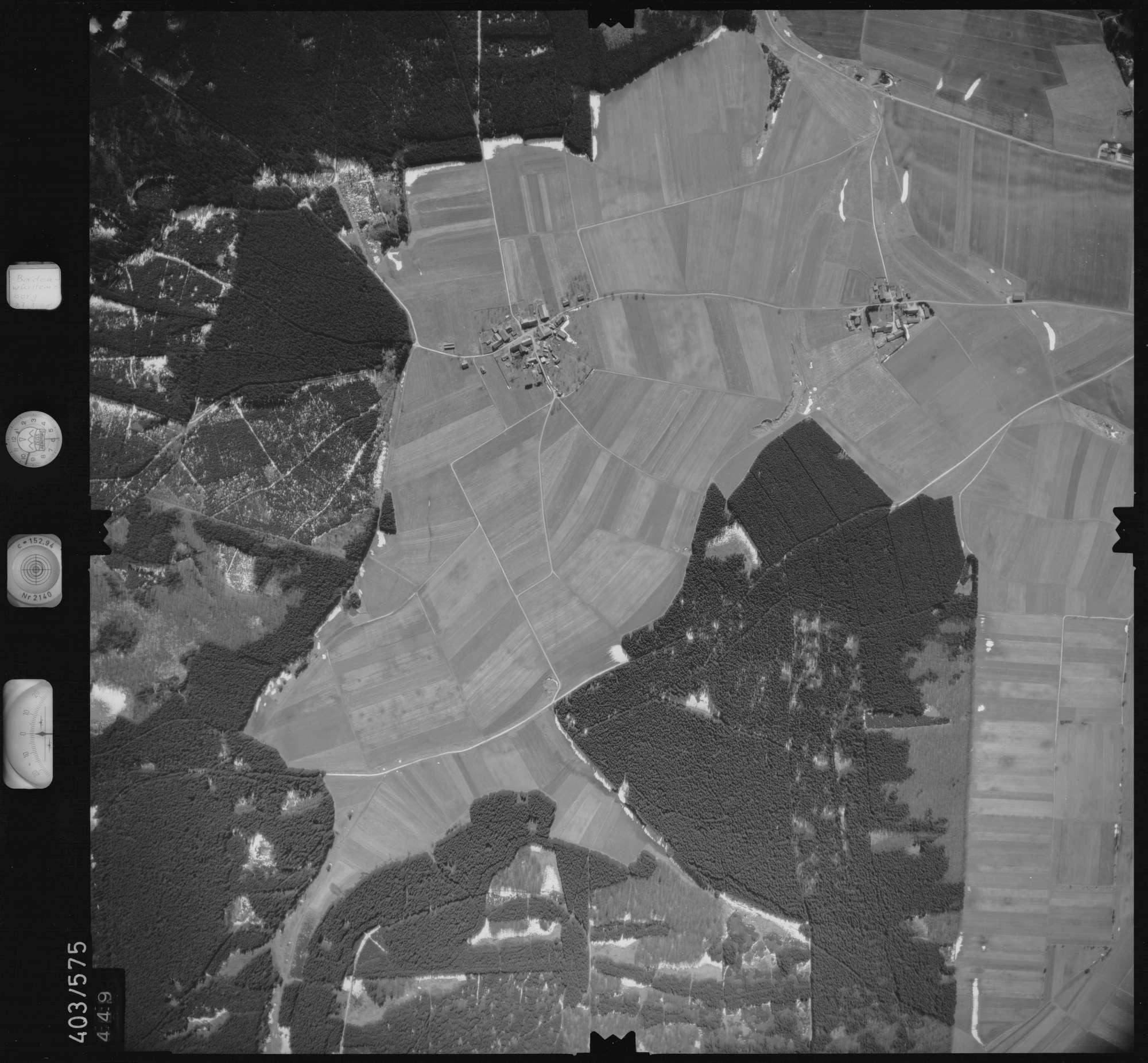 Luftbild: Film 10 Bildnr. 449, Bild 1