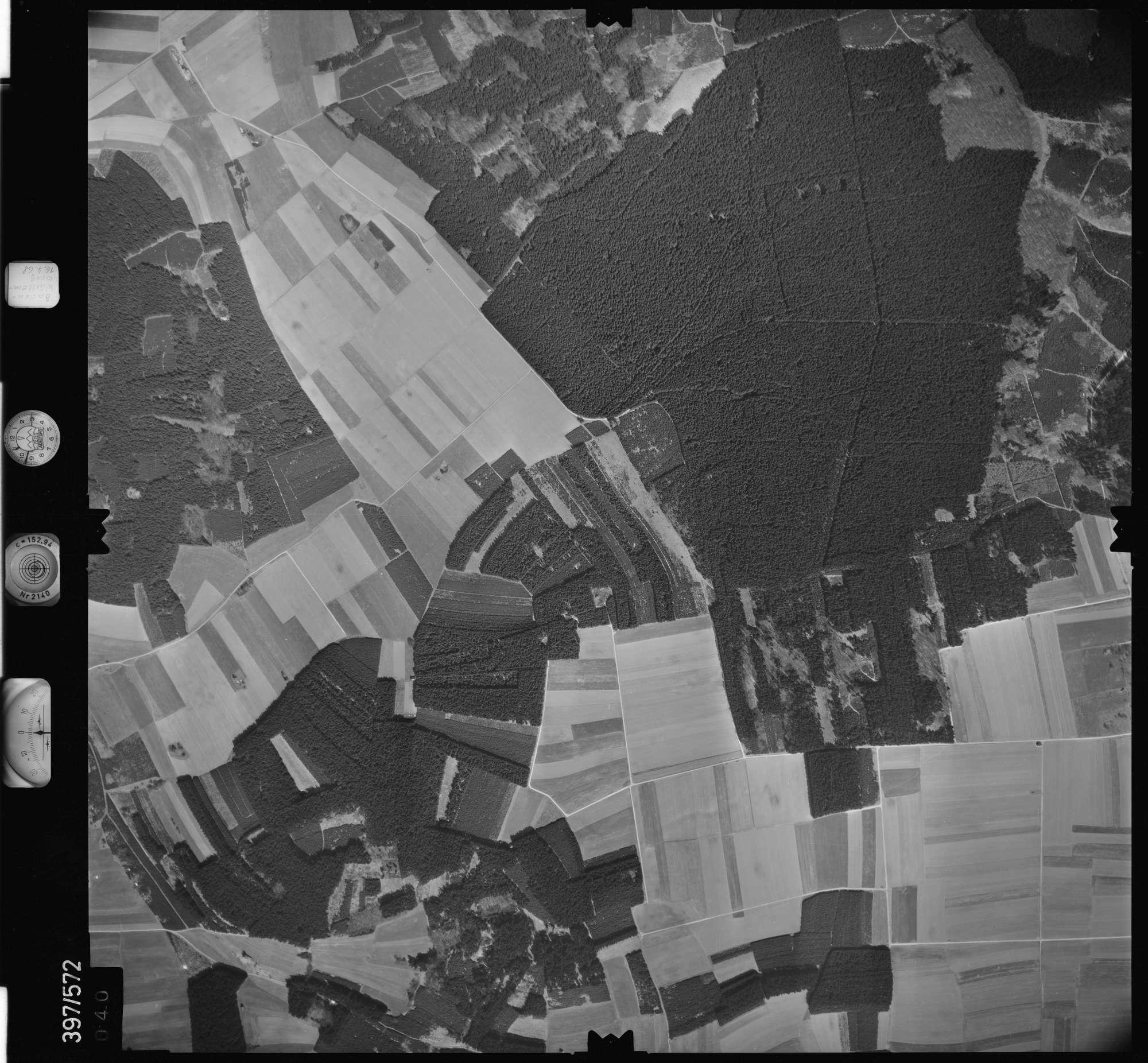 Luftbild: Film 32 Bildnr. 40, Bild 1