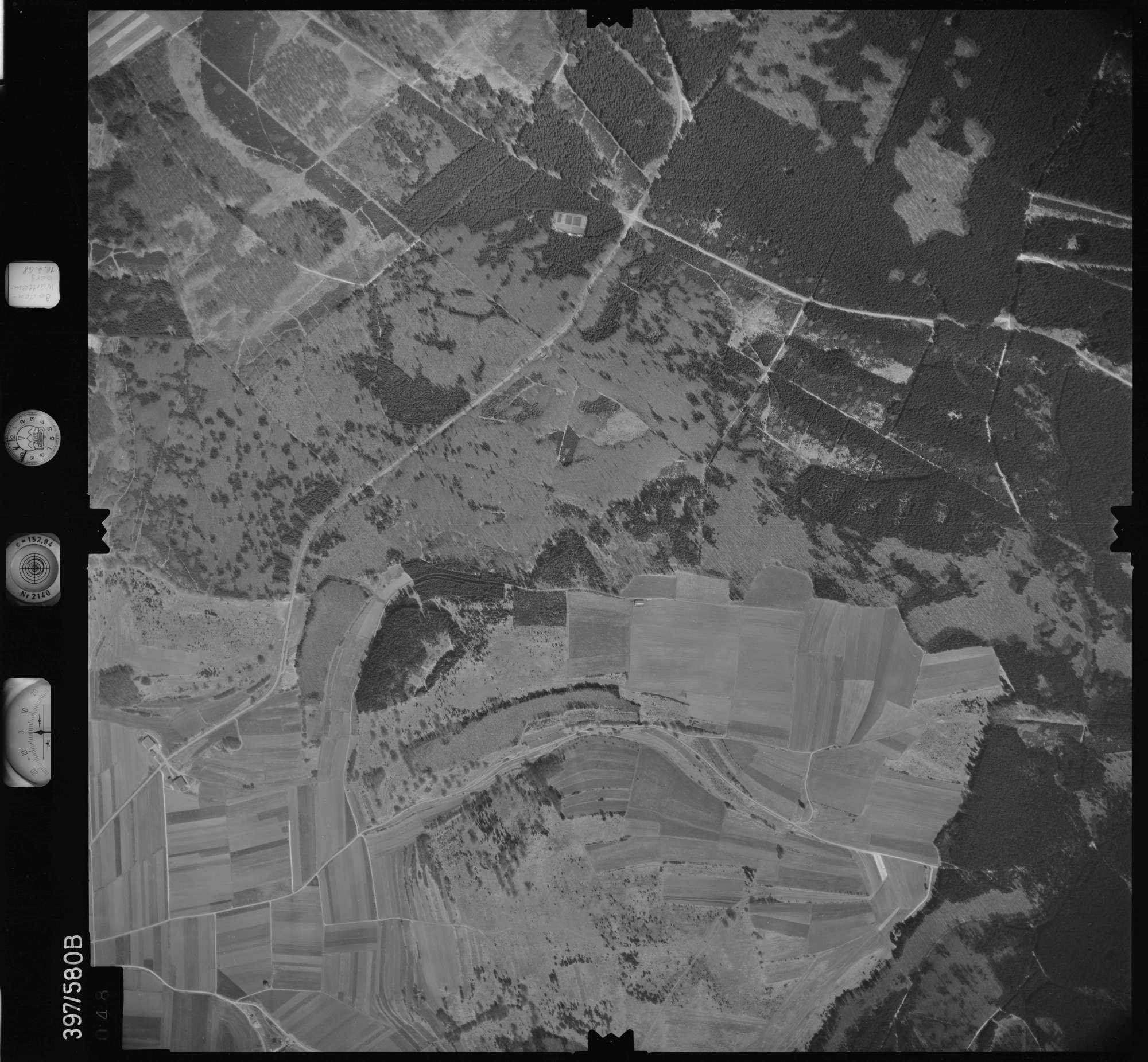 Luftbild: Film 32 Bildnr. 48, Bild 1