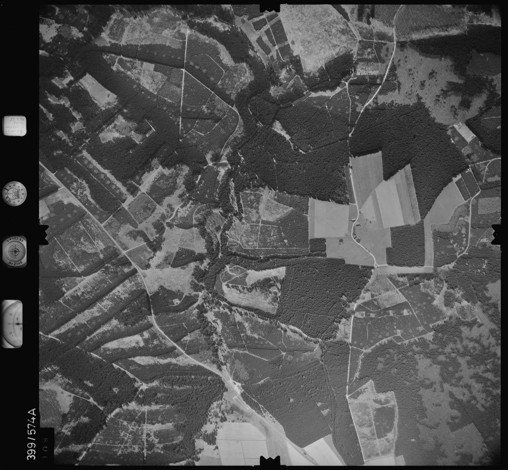 Luftbild: Film 32 Bildnr. 109, Bild 1