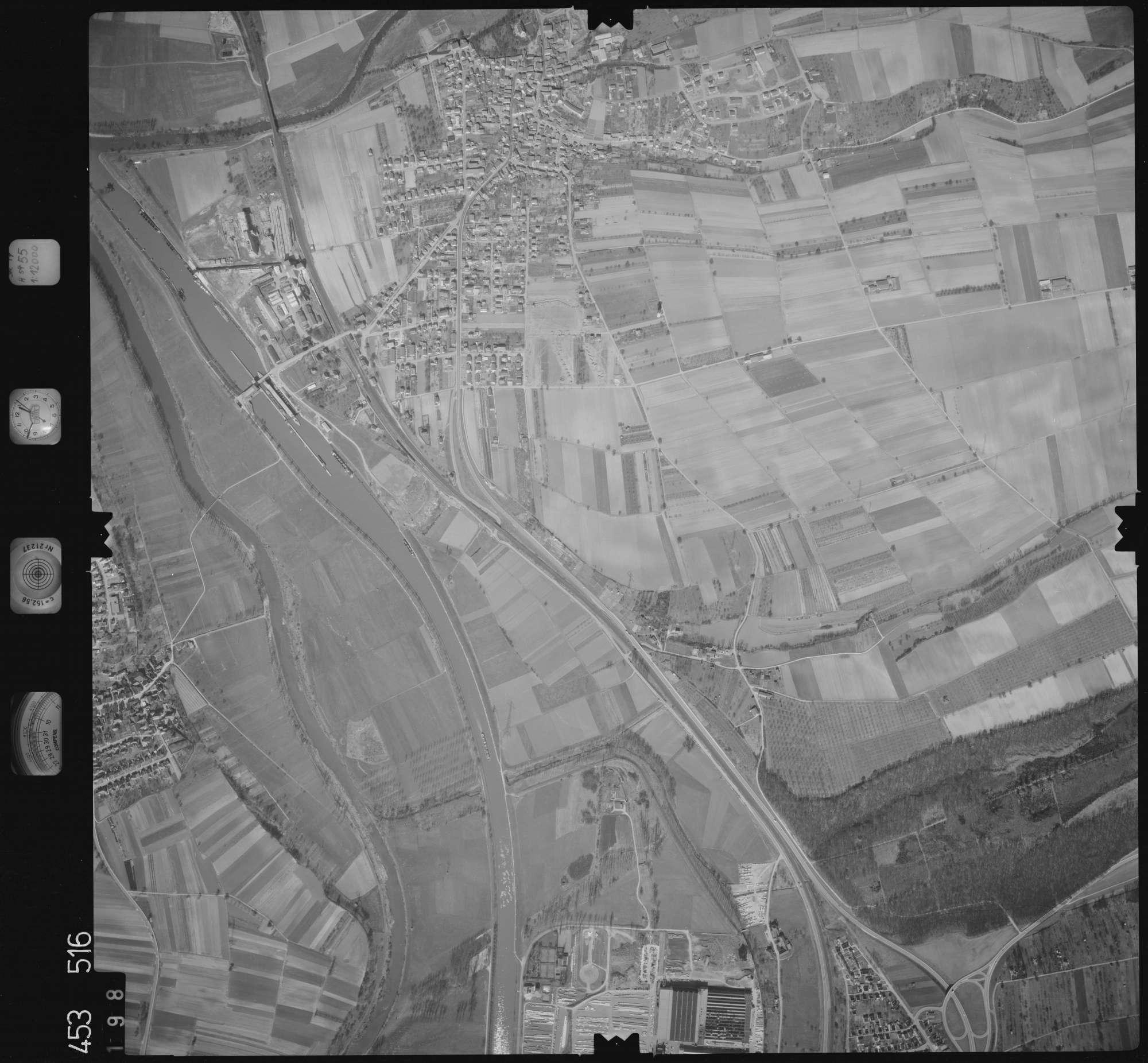 Luftbild: Film 16 Bildnr. 198, Bild 1